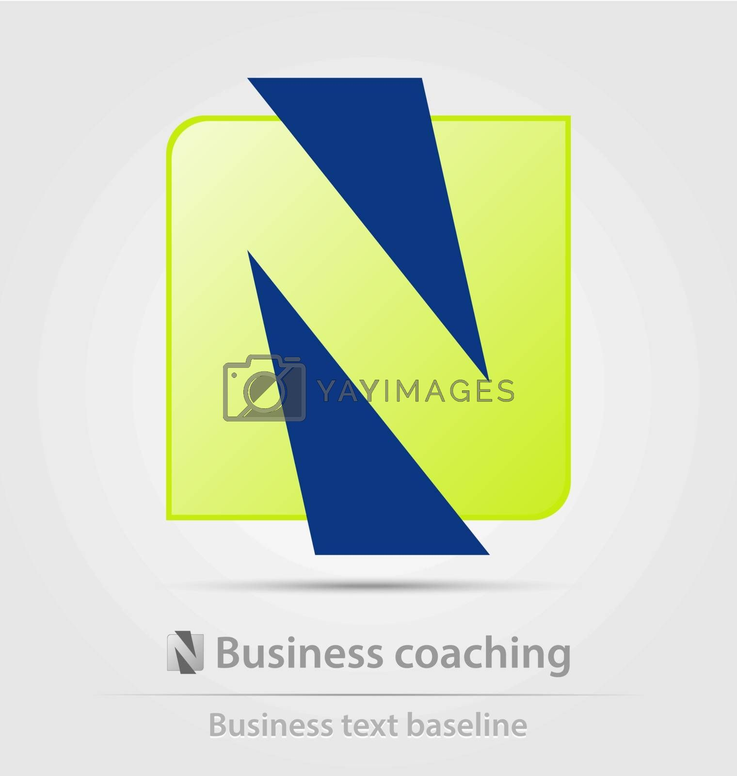 Business coaching business icon for creative design tasks