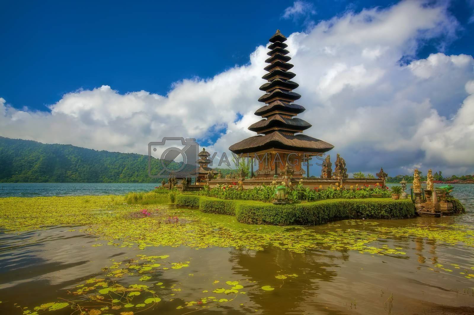 Royalty free image of Ulun Danu Temple by kjorgen