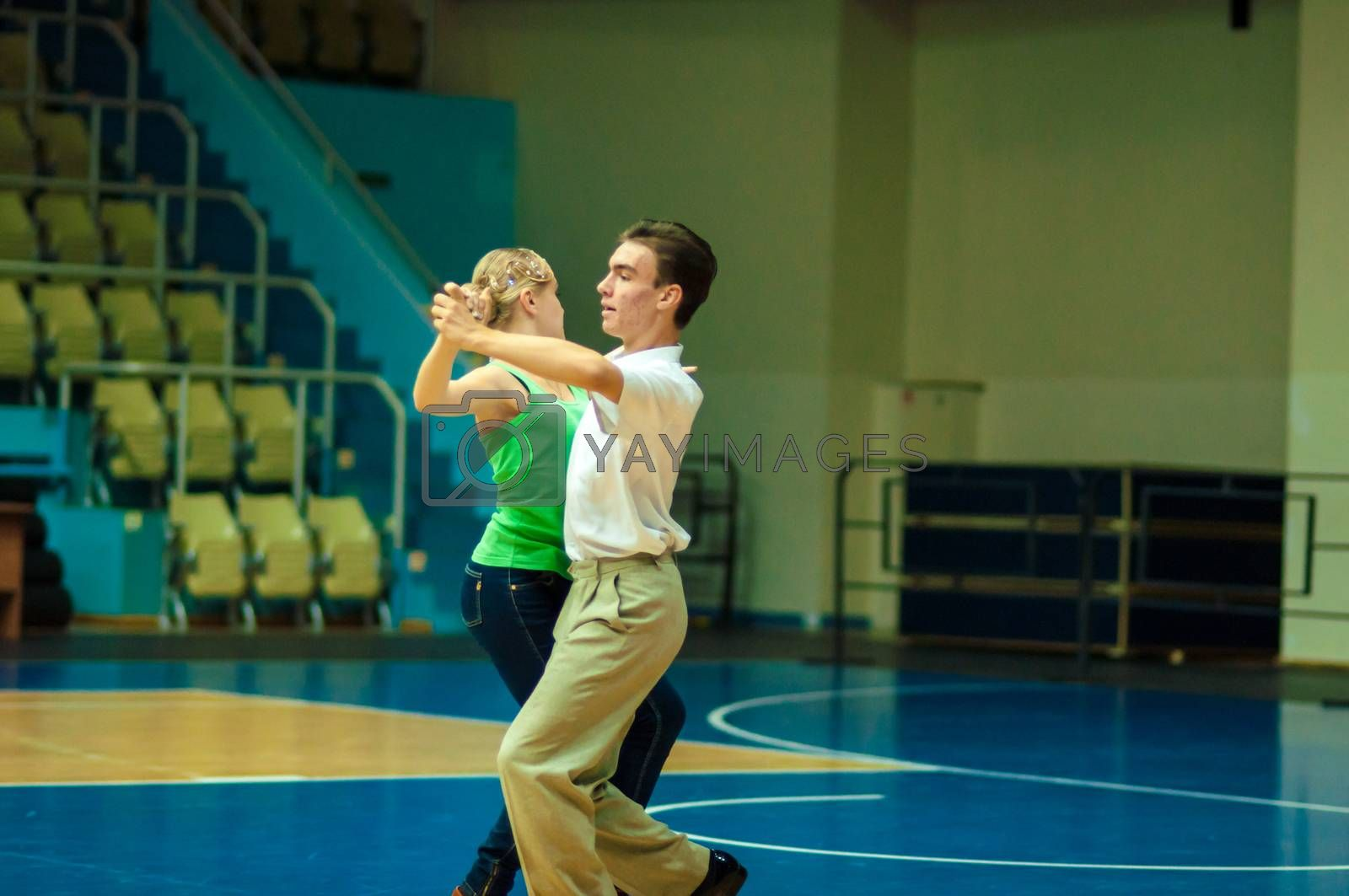 Royalty free image of Dancing couple by 0608195706081957