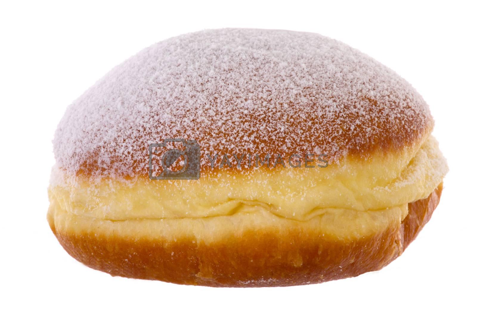 Royalty free image of Krapfen Berliner Pfannkuchen Bismarck Donut by gwolters