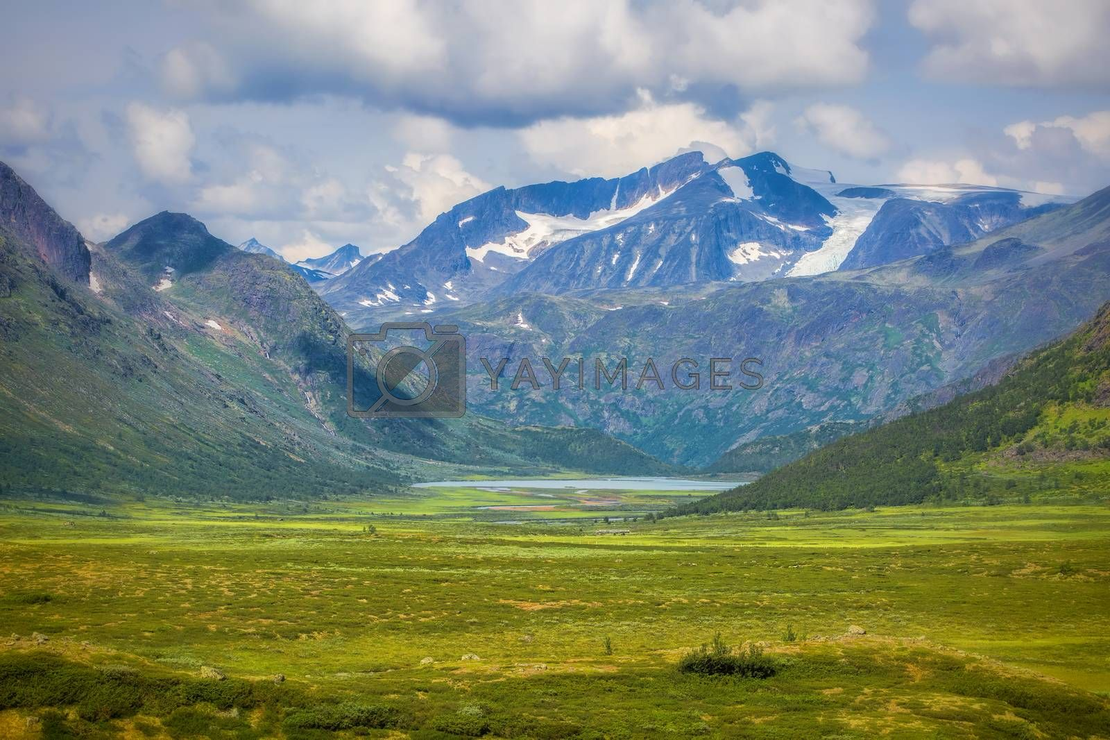 Royalty free image of Stryn in Norway by kjorgen