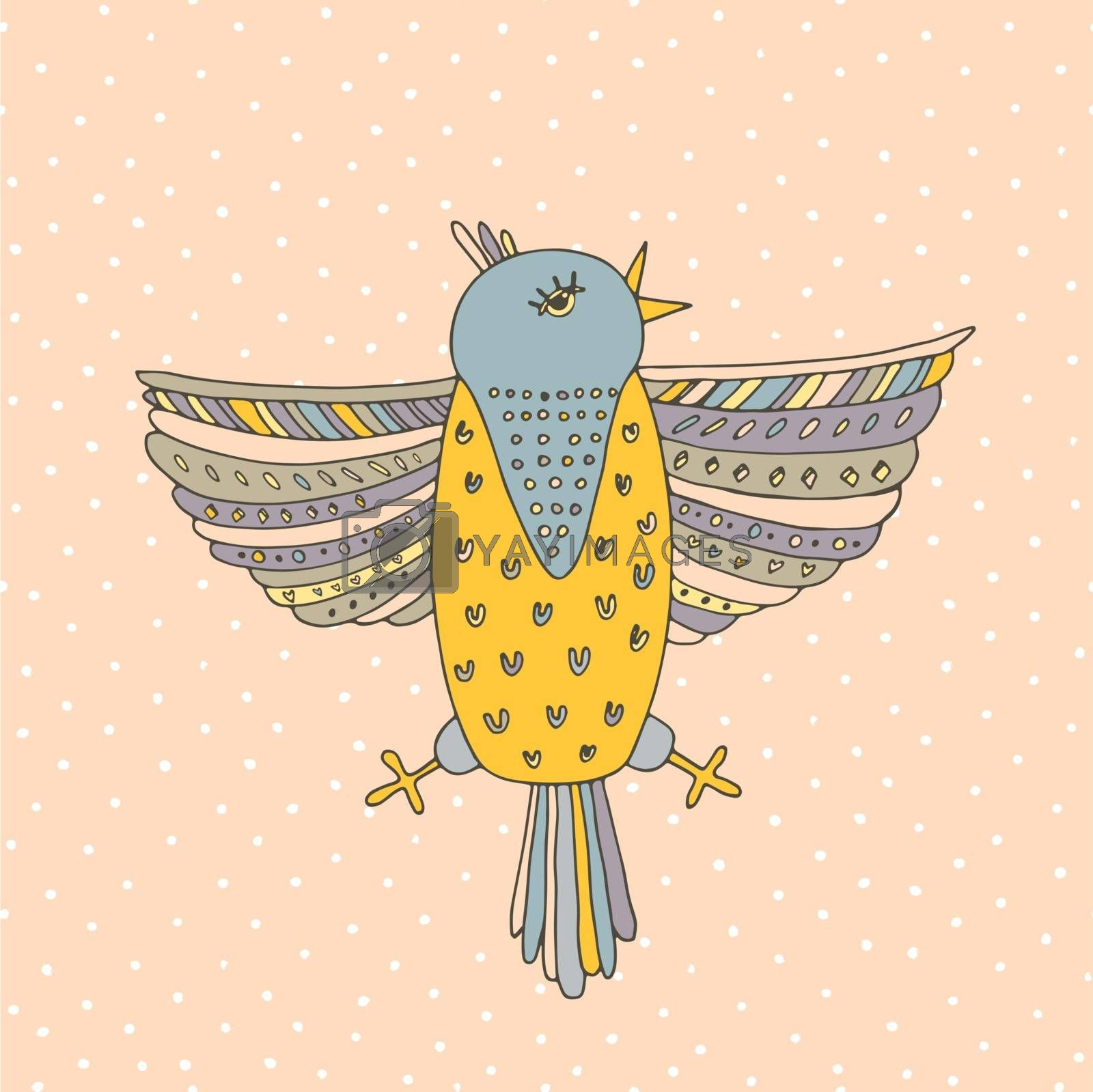 Royalty free image of Bird Card by Favete