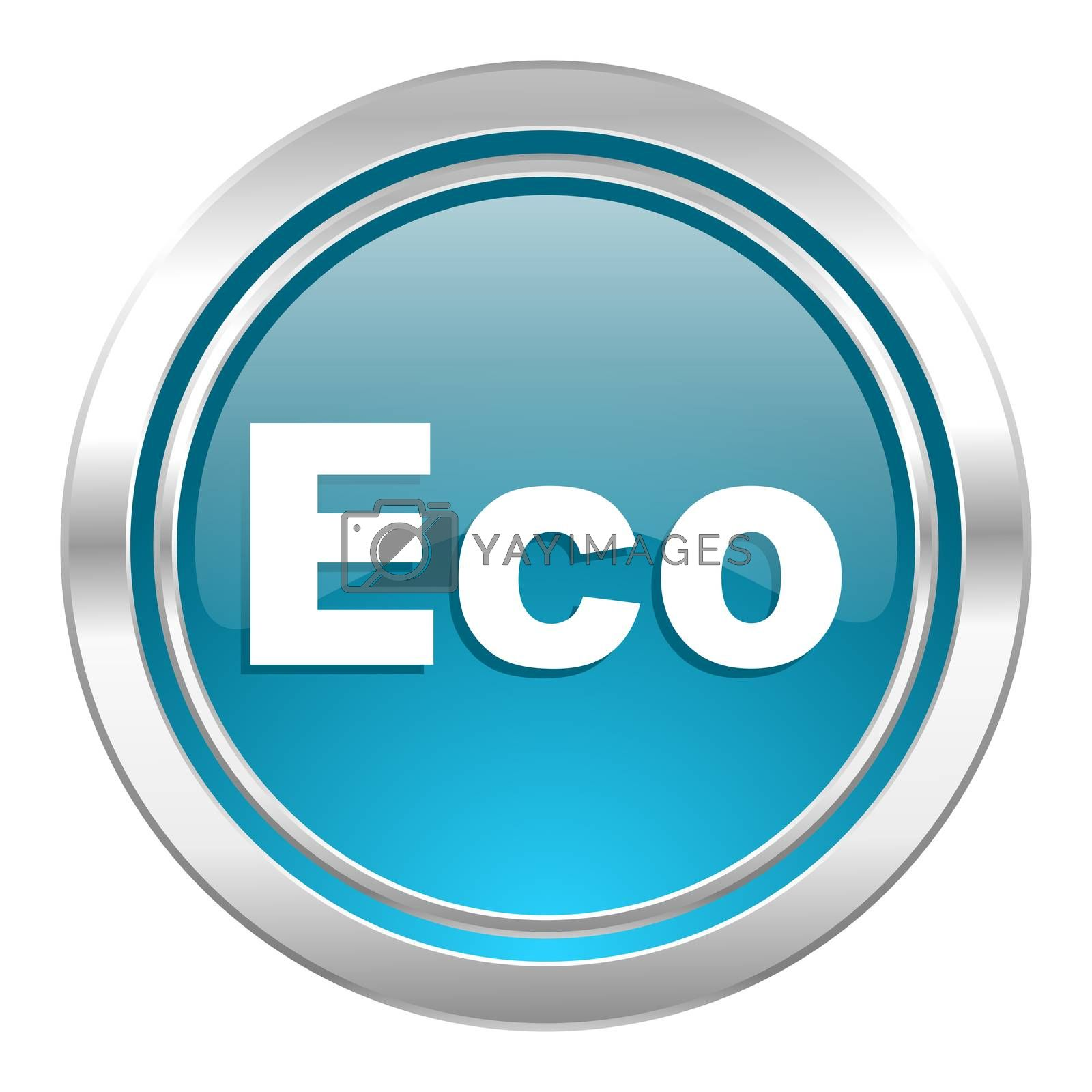 eco icon, ecological sign
