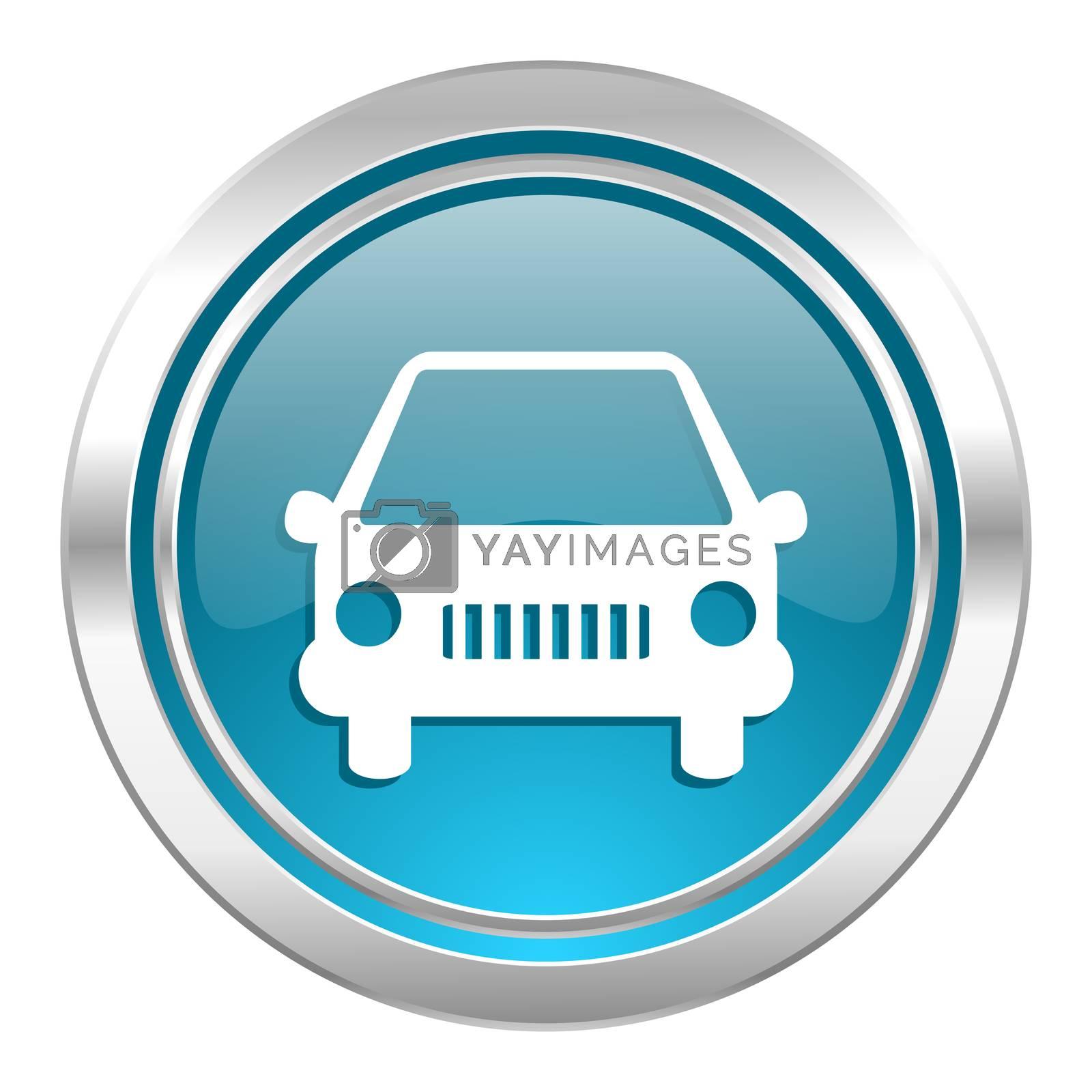 car icon, auto sign