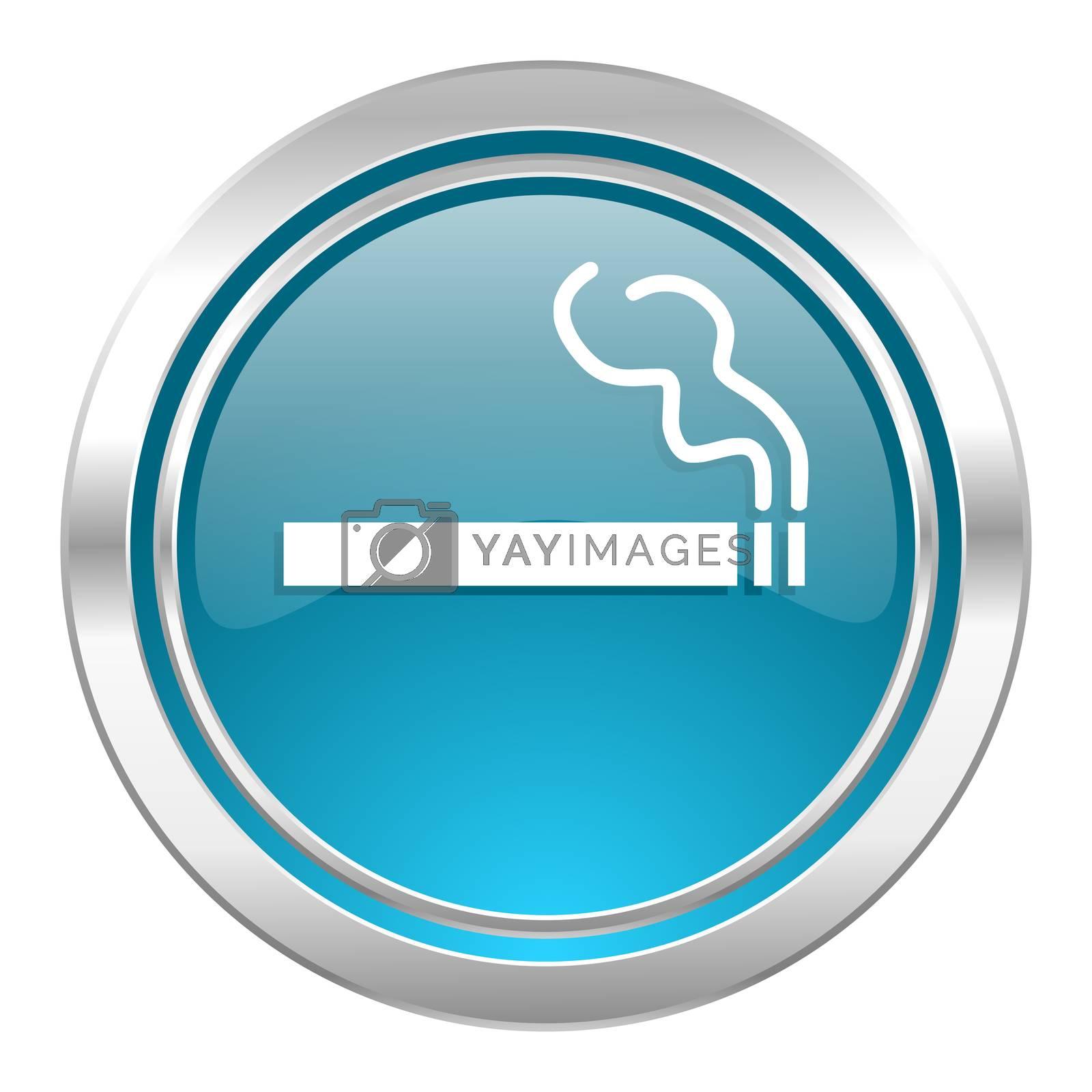 cigarette icon, nicotine sign