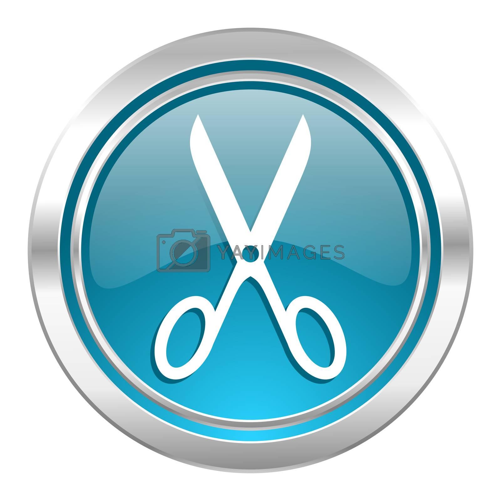 scissors icon, cut sign
