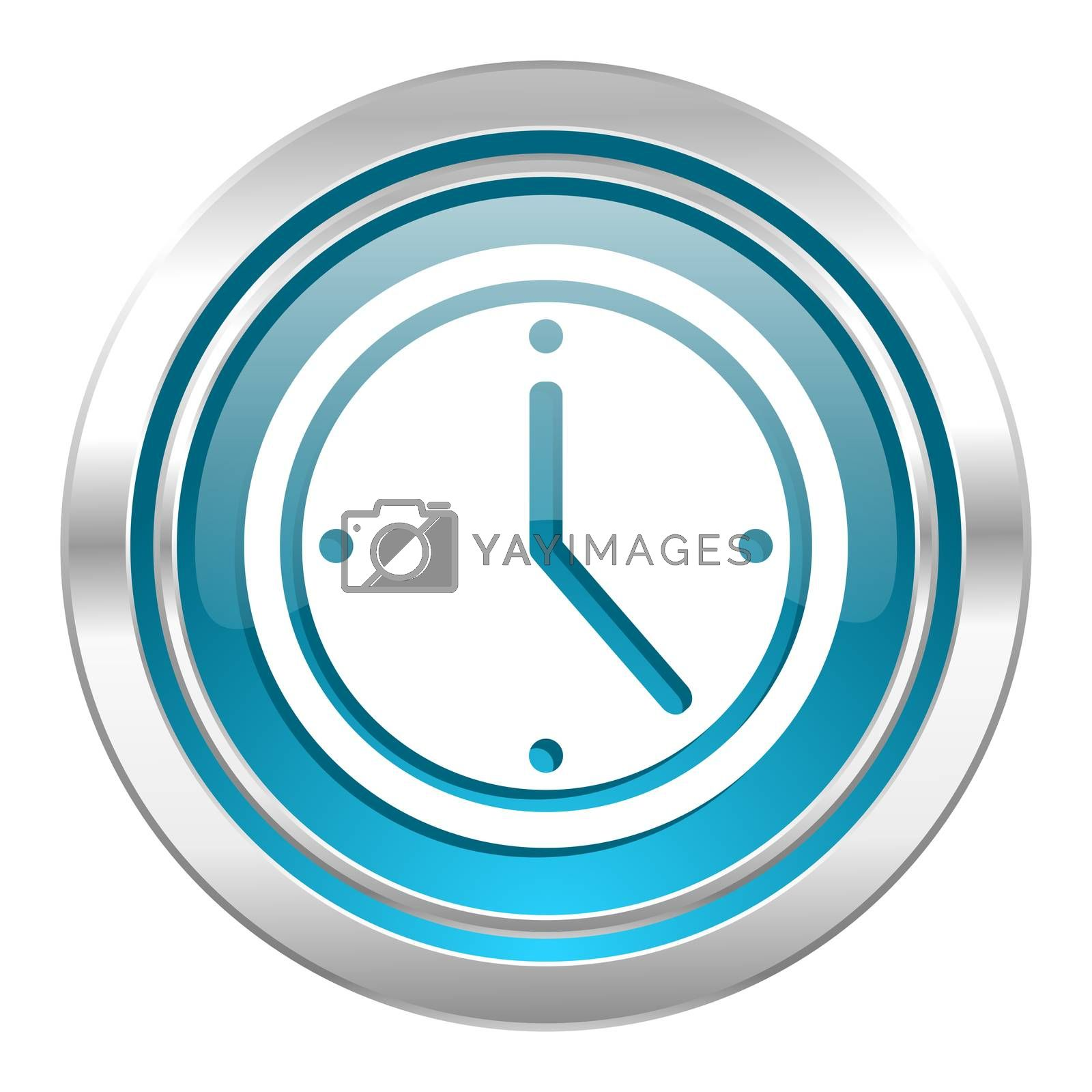 time icon, watch sign