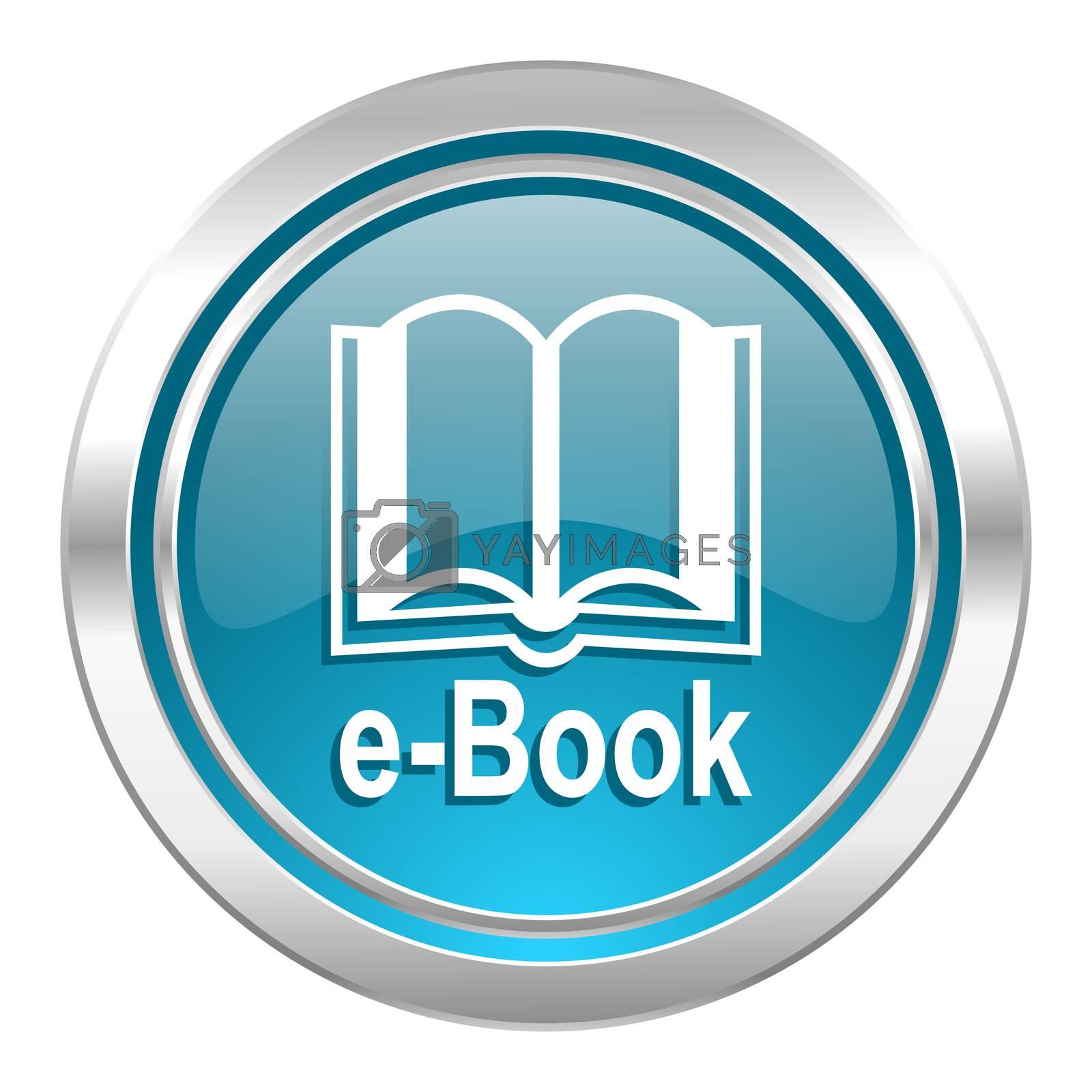 book icon, e-book sign