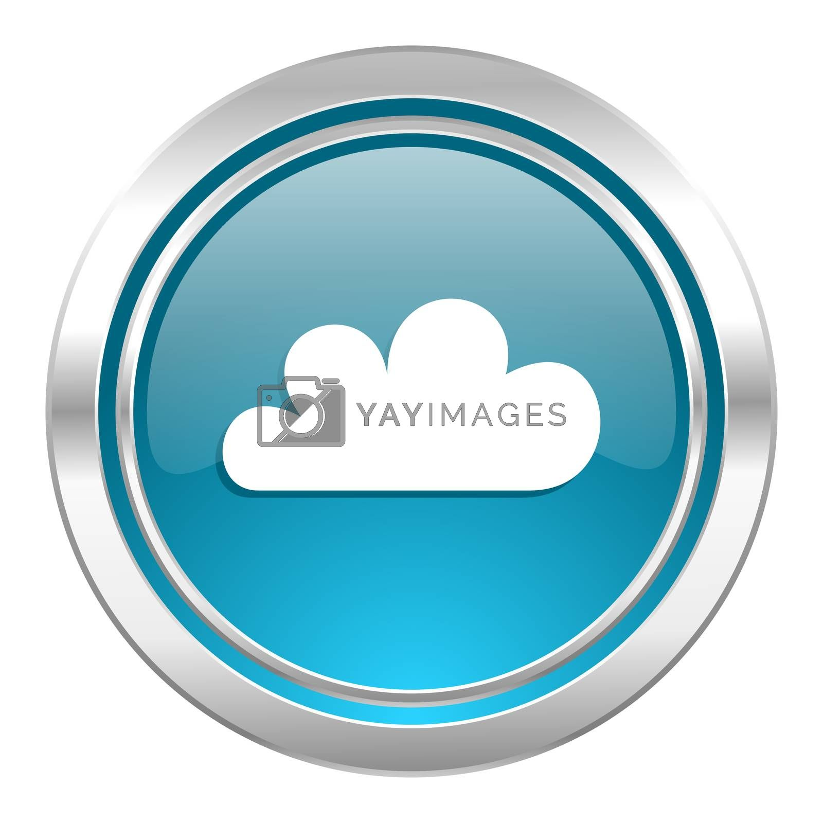 cloud icon, waether forecast sign