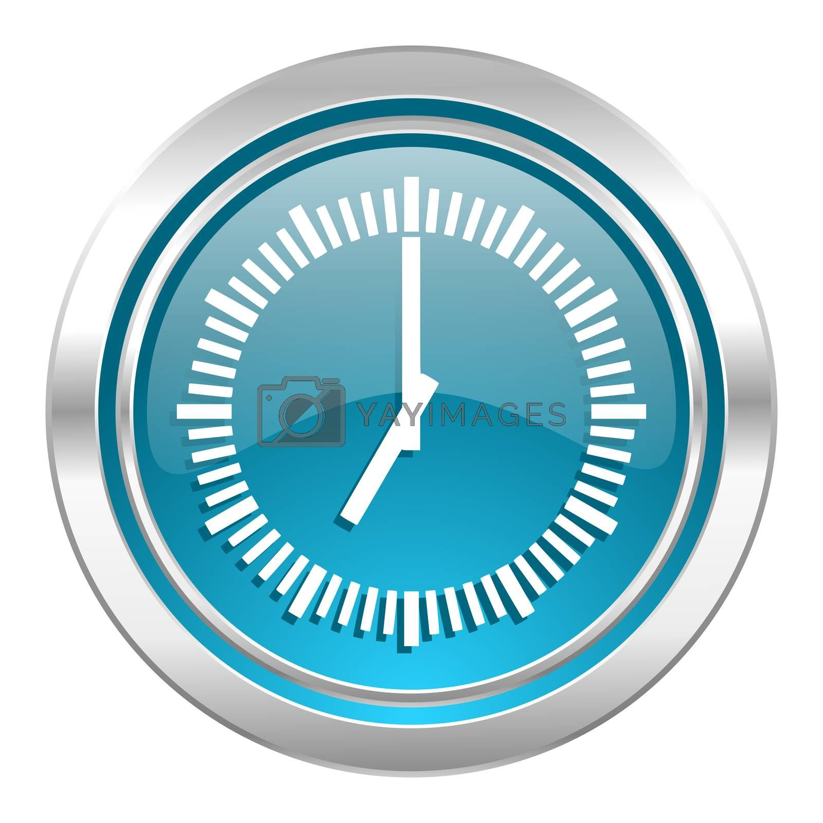 time icon, clock sign