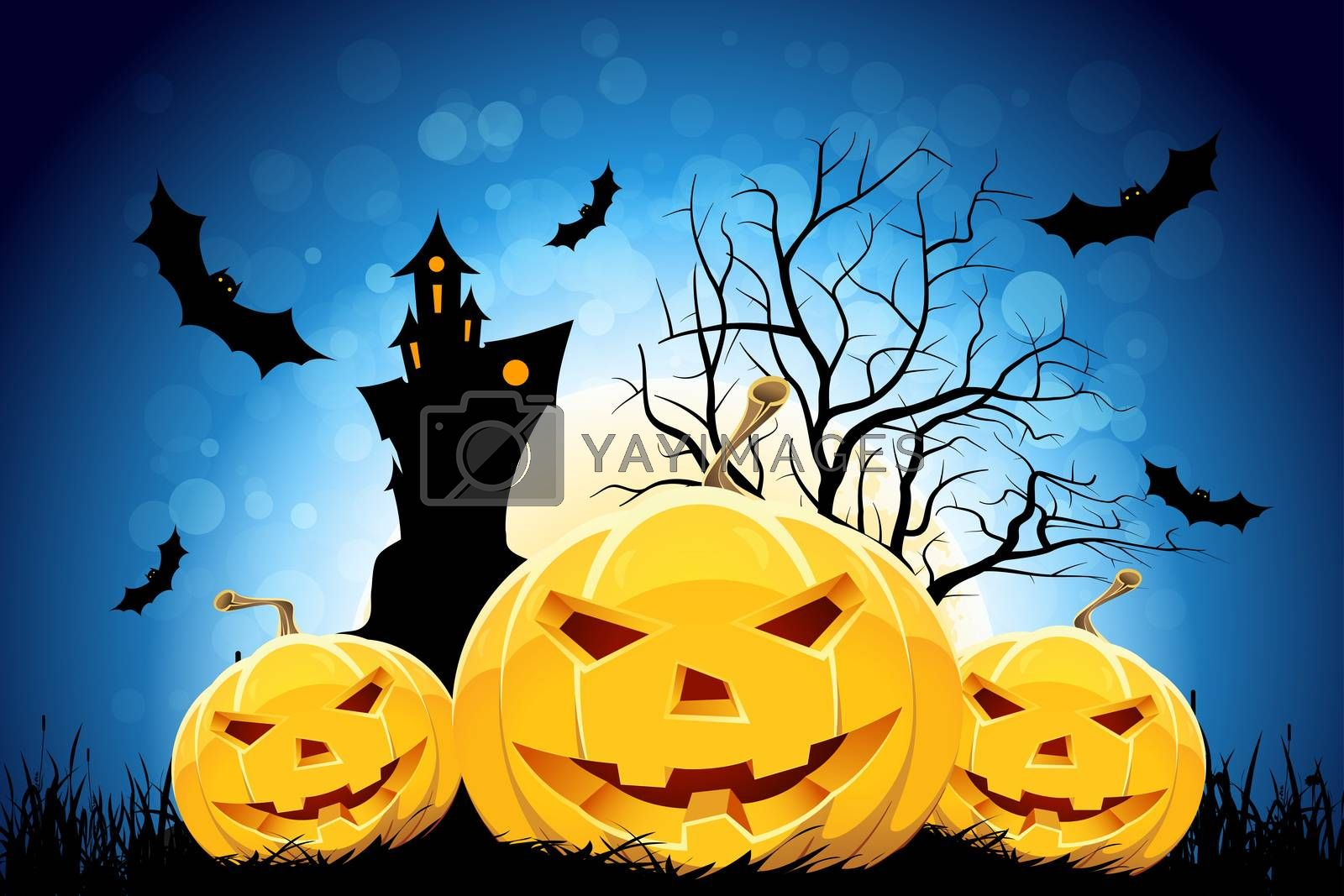 Halloween Party Background by WaD