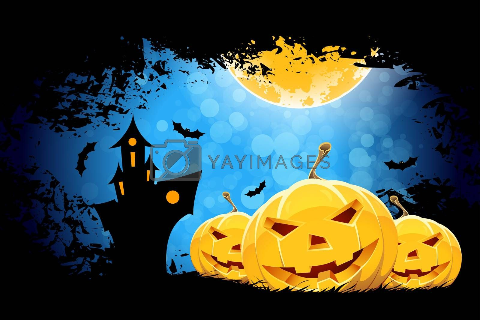 Grungy Halloween Background by WaD