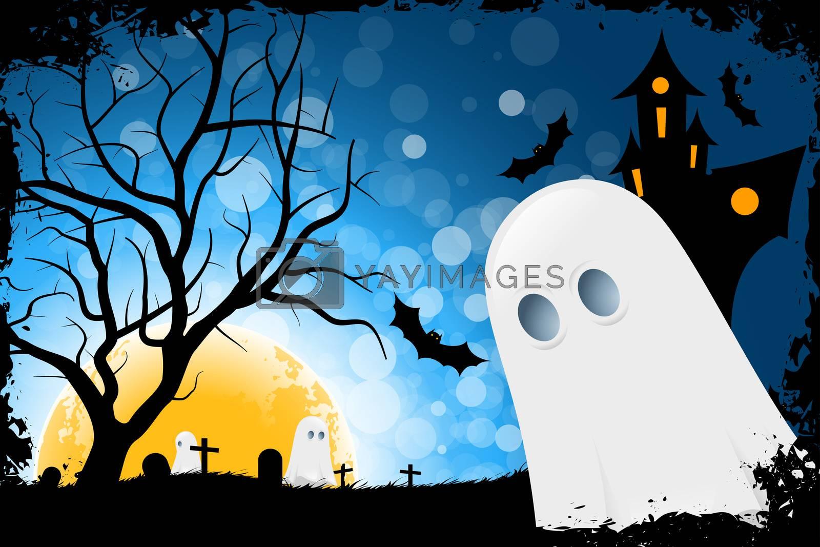 Grunge Halloween Card by WaD