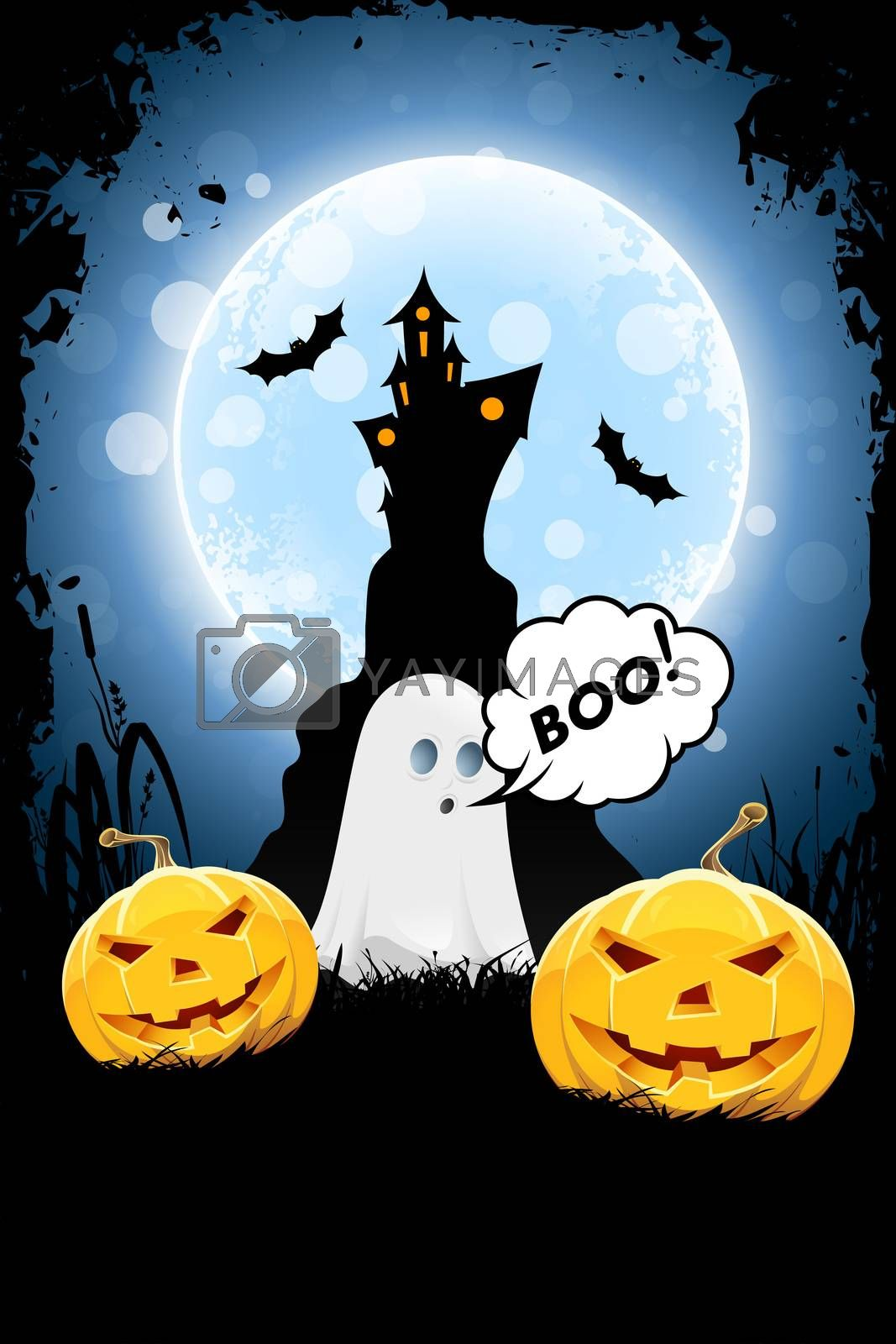 Halloween Background by WaD