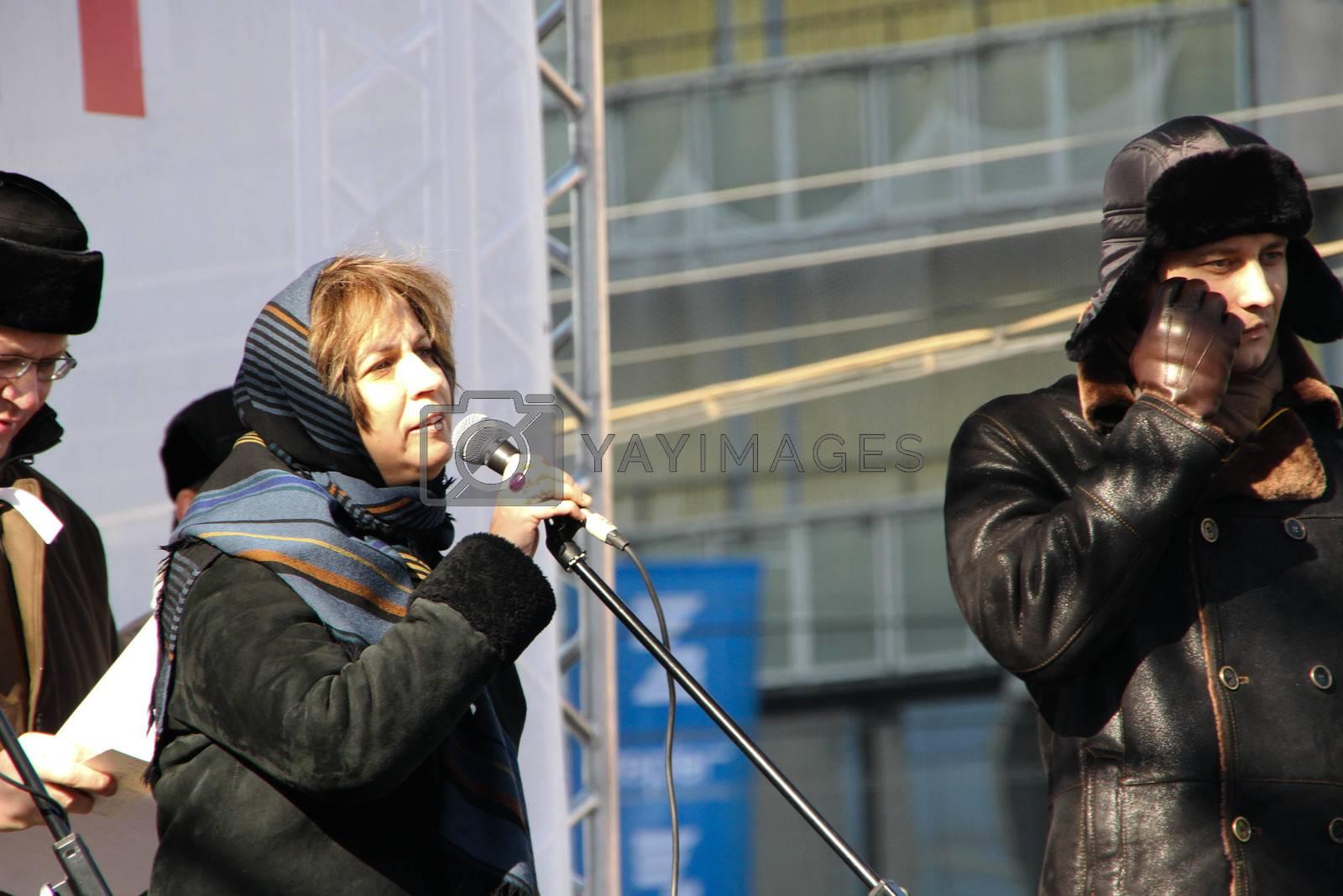 Journalist Zoya Svetova by olegkozyrev