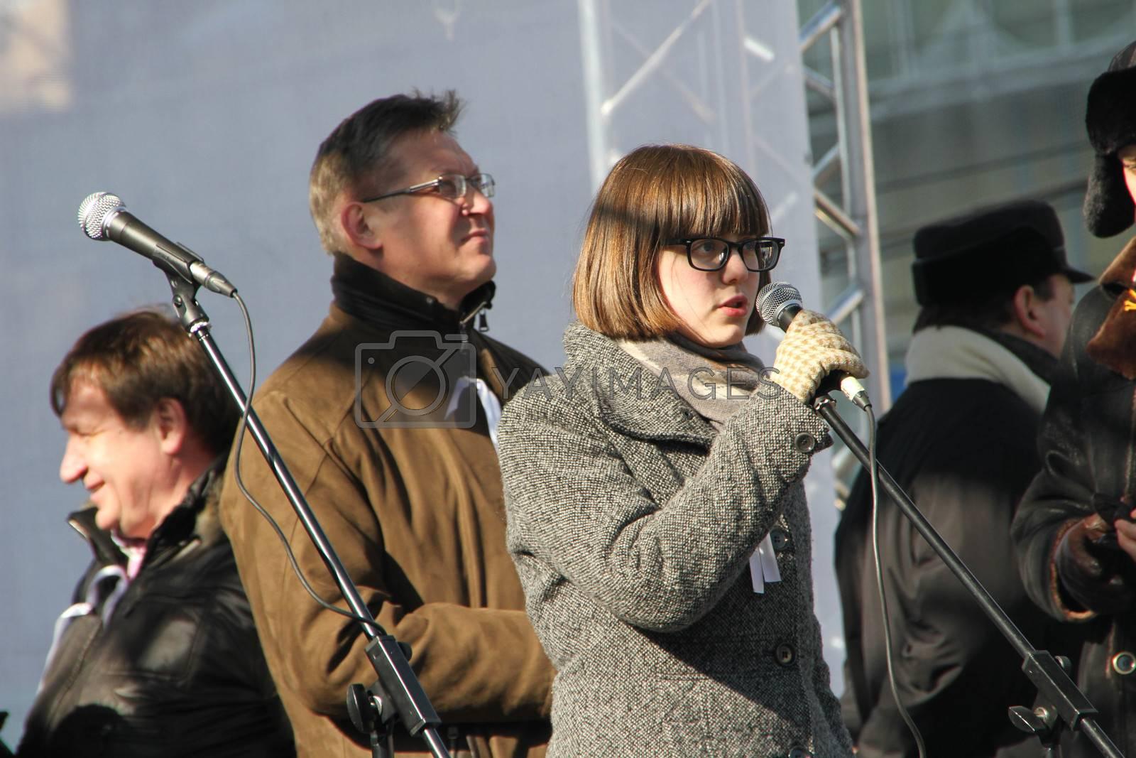 Municipal MP Vera Kichanova by olegkozyrev