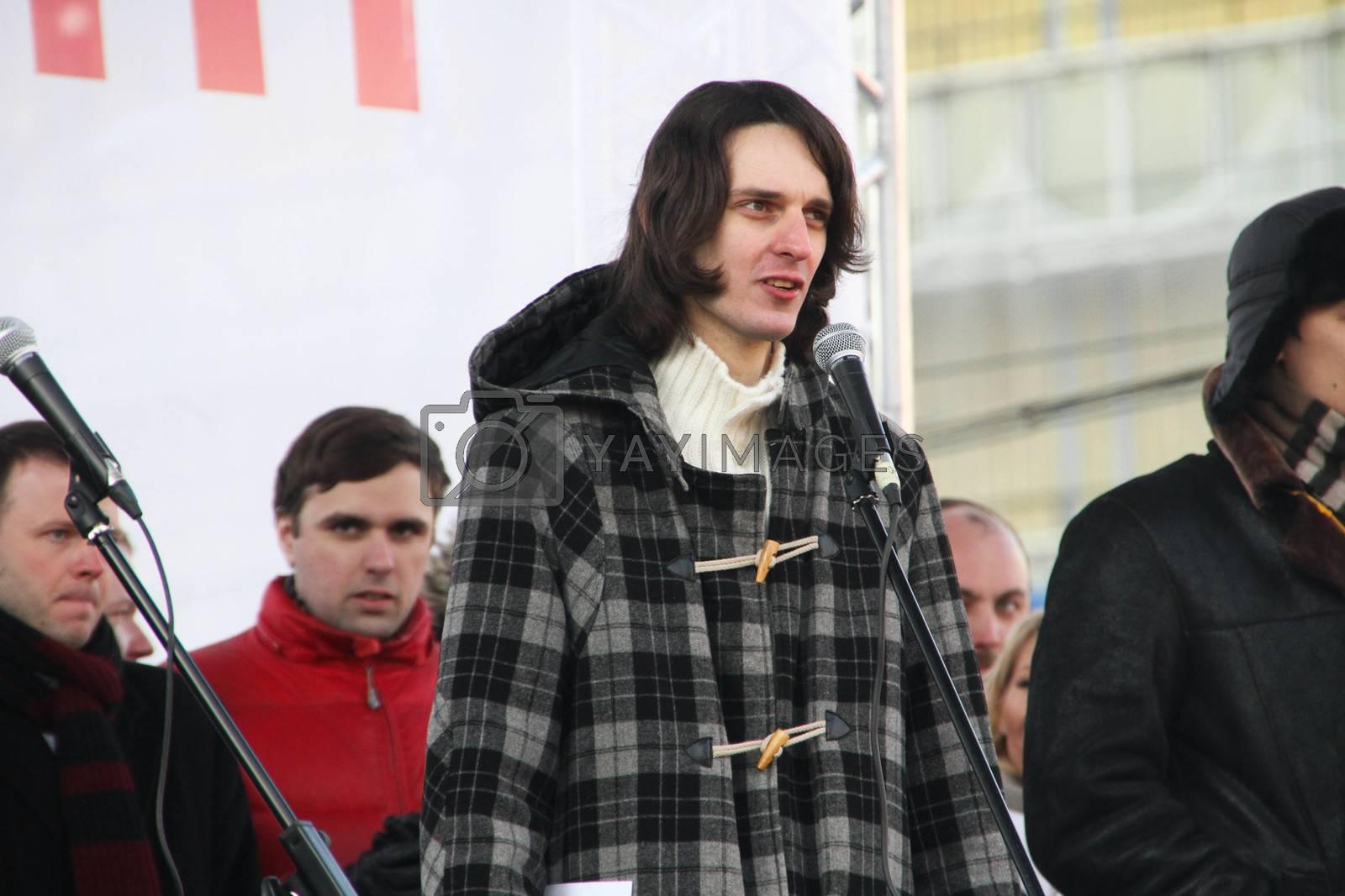 Municipal Deputy Maxim Katz by olegkozyrev