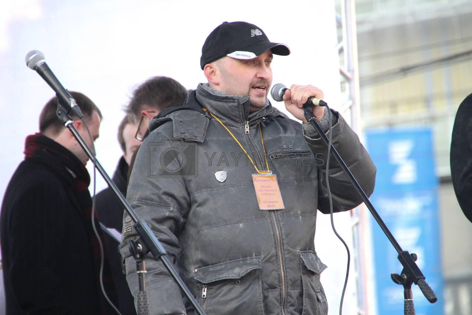 Civil activist Vadim Korovin by olegkozyrev