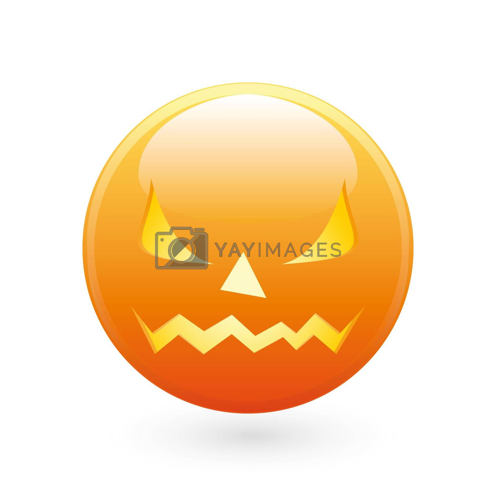 Halloween smile icon by WaD