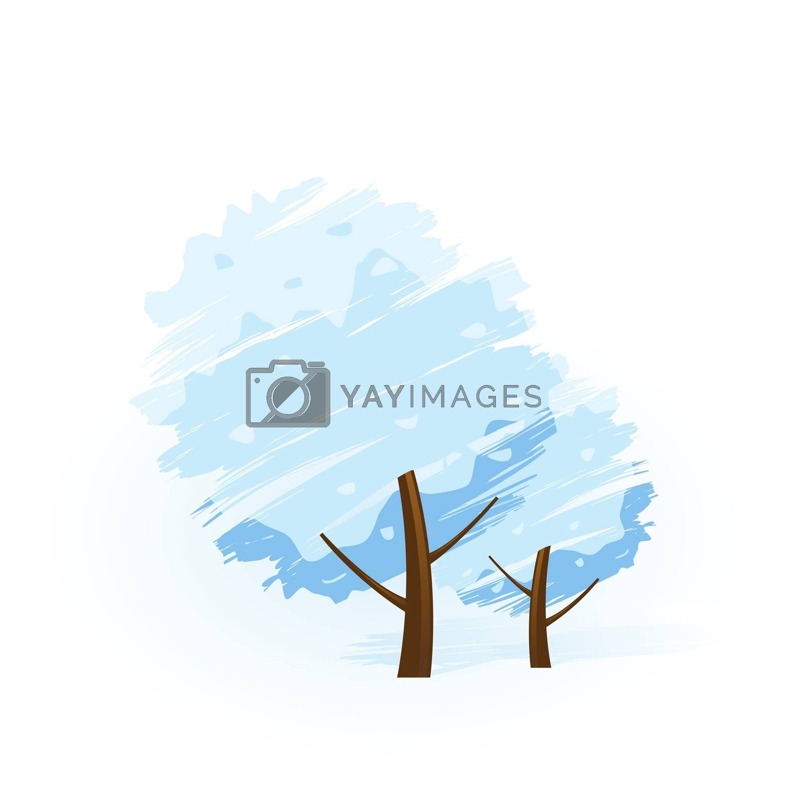 Winter tree icon by WaD
