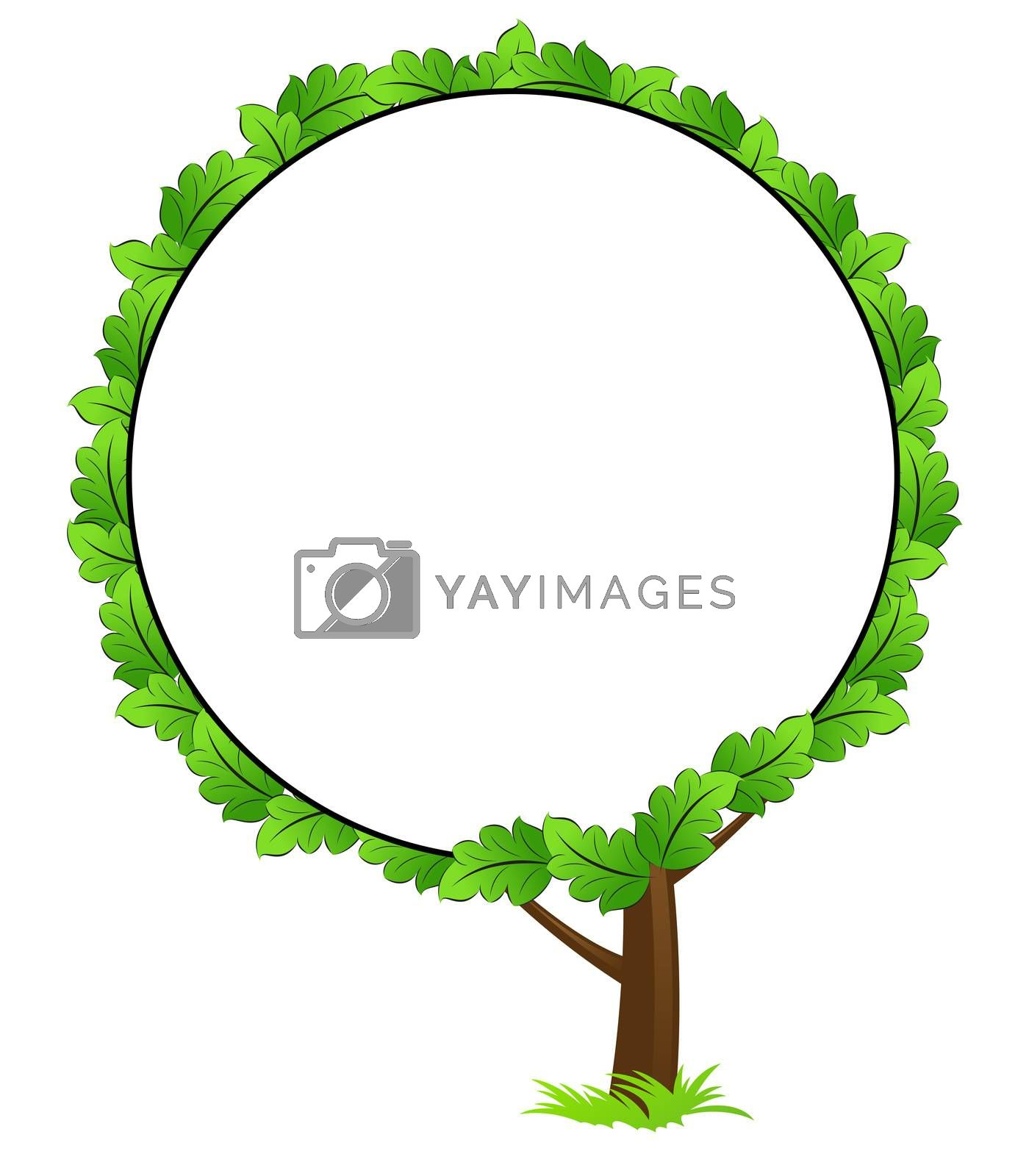 Blank tree frame icon by WaD