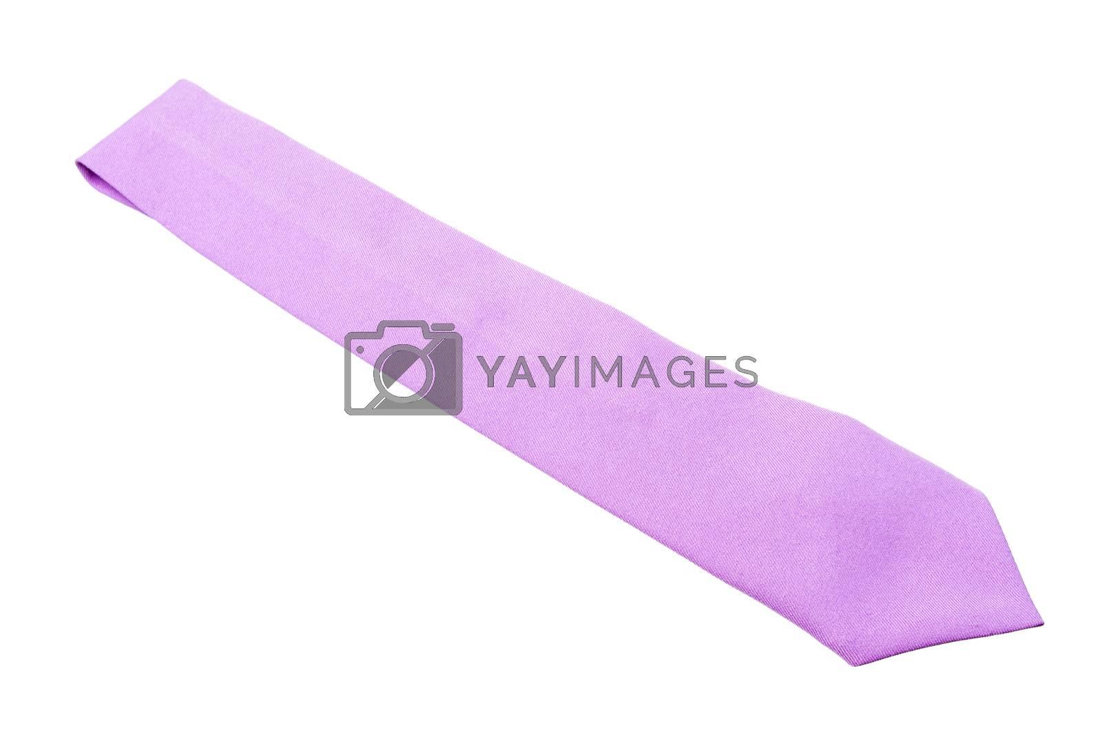 plain purple business neck tie by kasinv