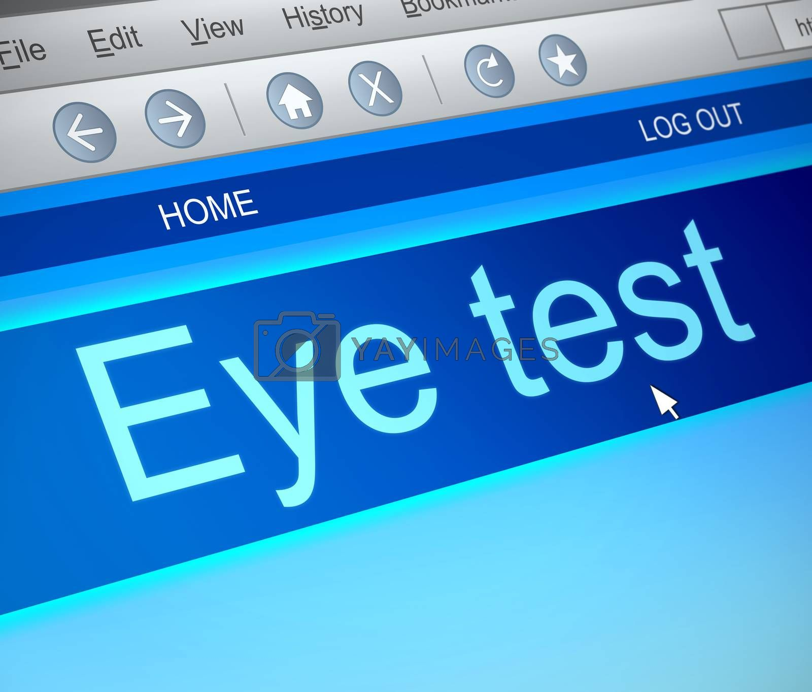 Eye test concept. by 72soul