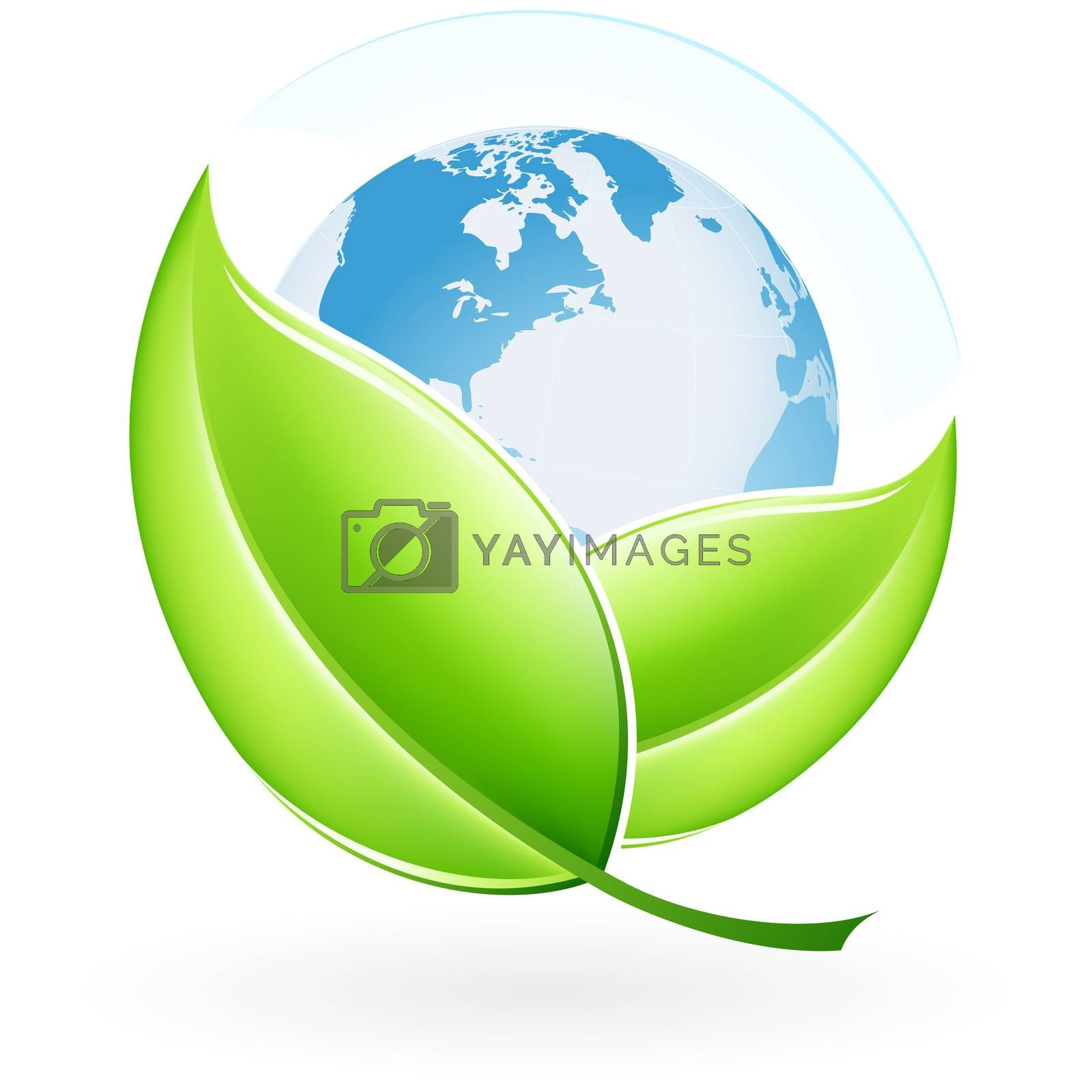 Icon with Earth by WaD