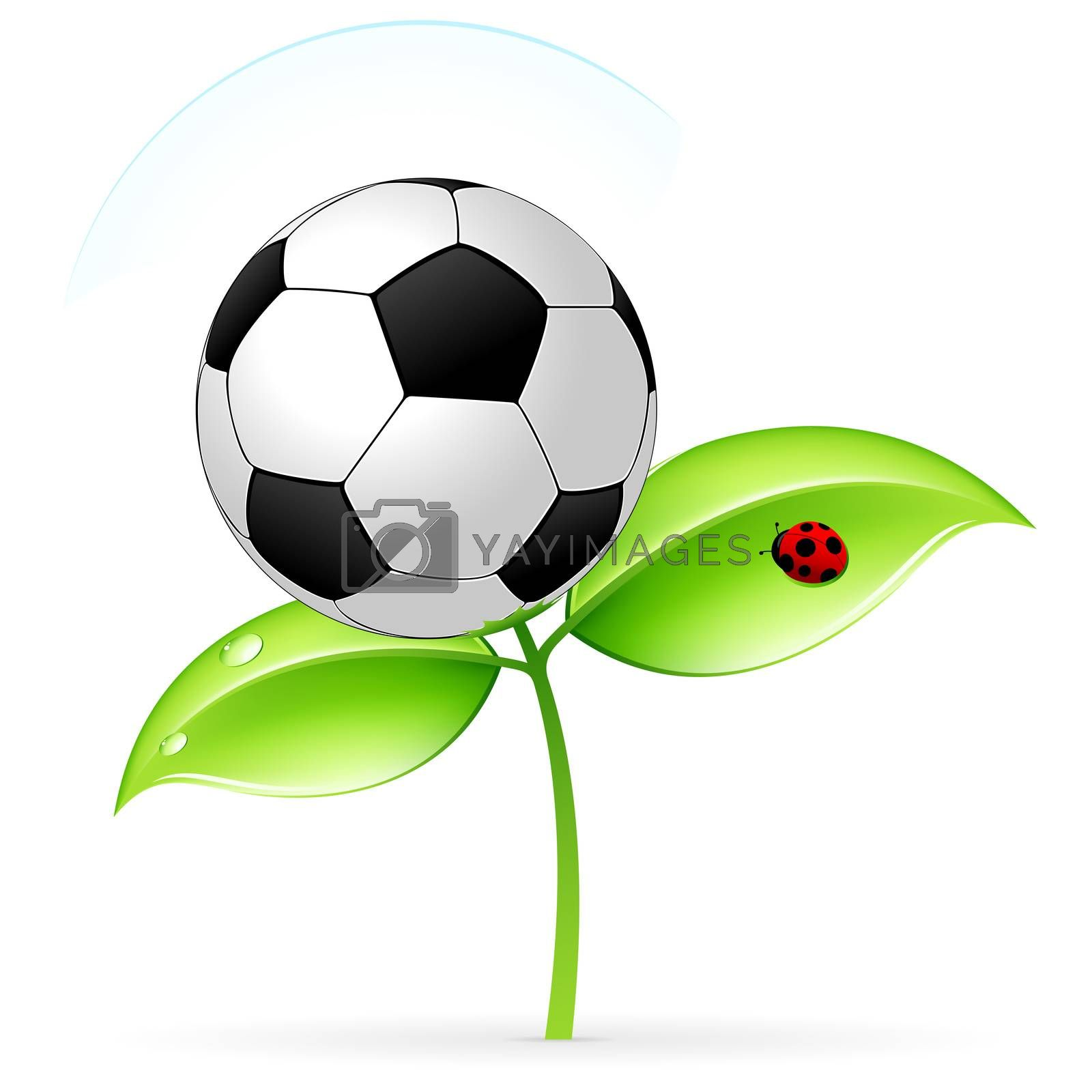 Icon with football by WaD