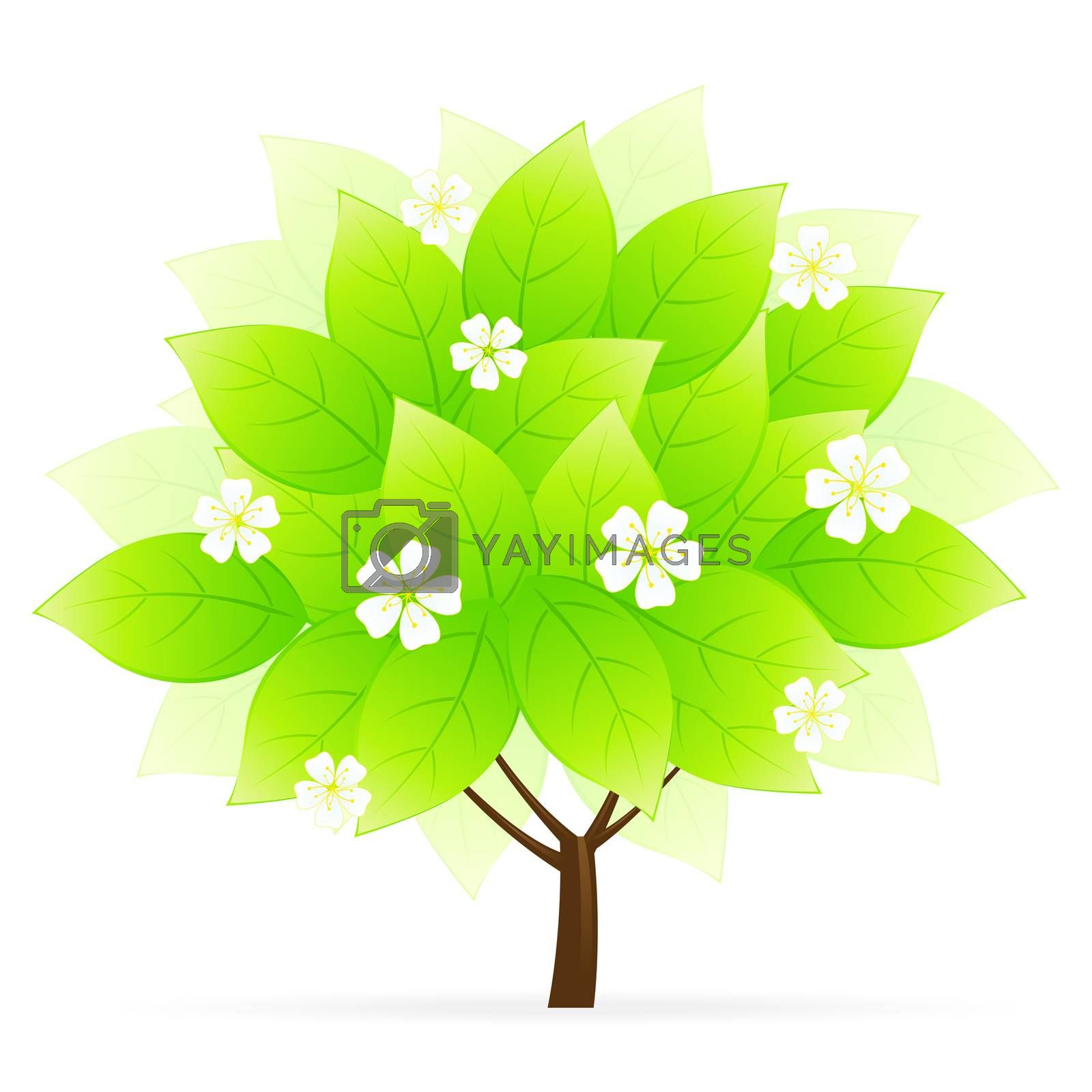 Green Tree Icon by WaD
