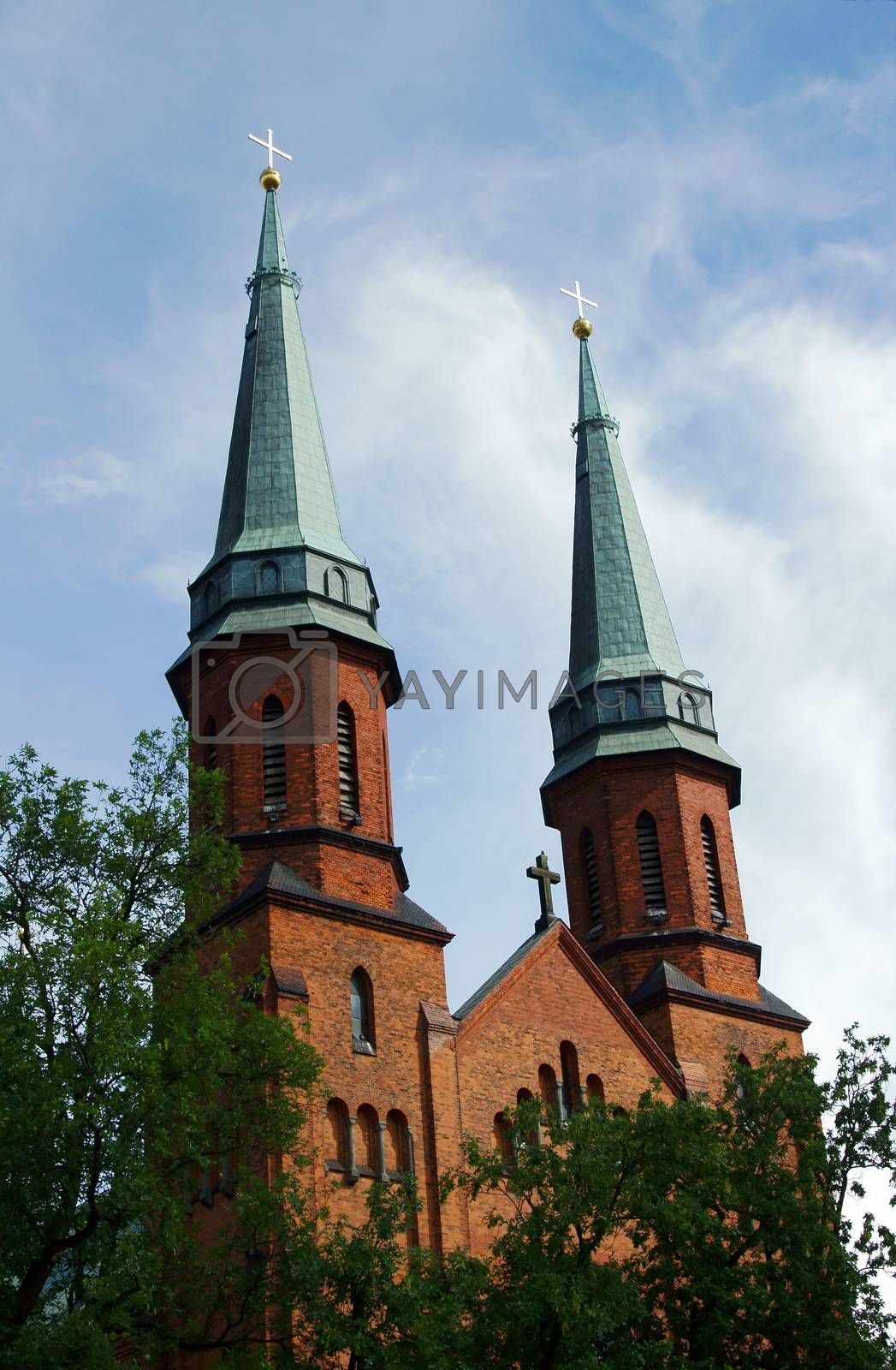 Gothic church towers by gkordus