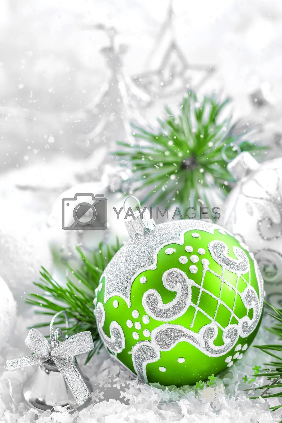 Christmas ornaments by yelenayemchuk