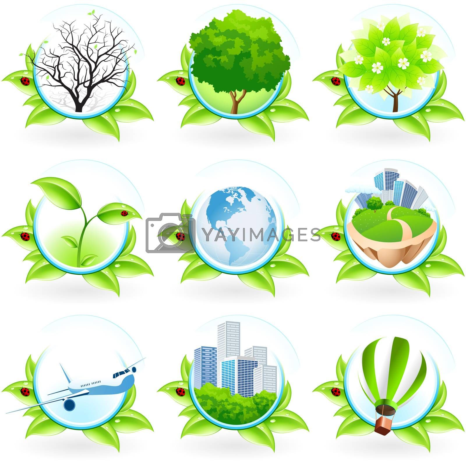 Green Icon Set by WaD
