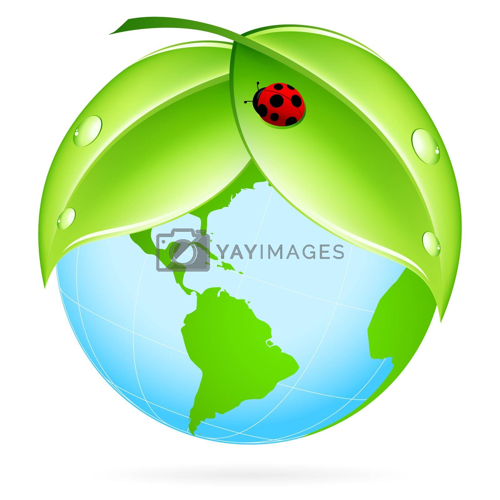 Green Earth Icon by WaD
