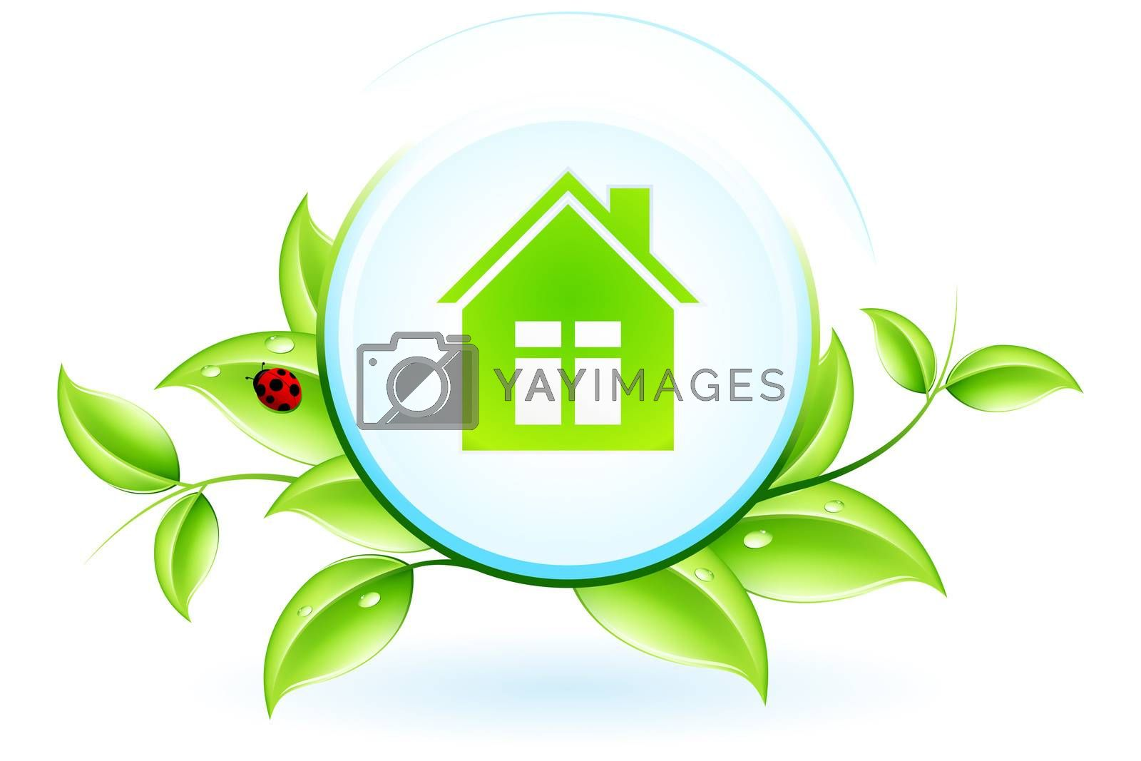 Green House Symbol by WaD