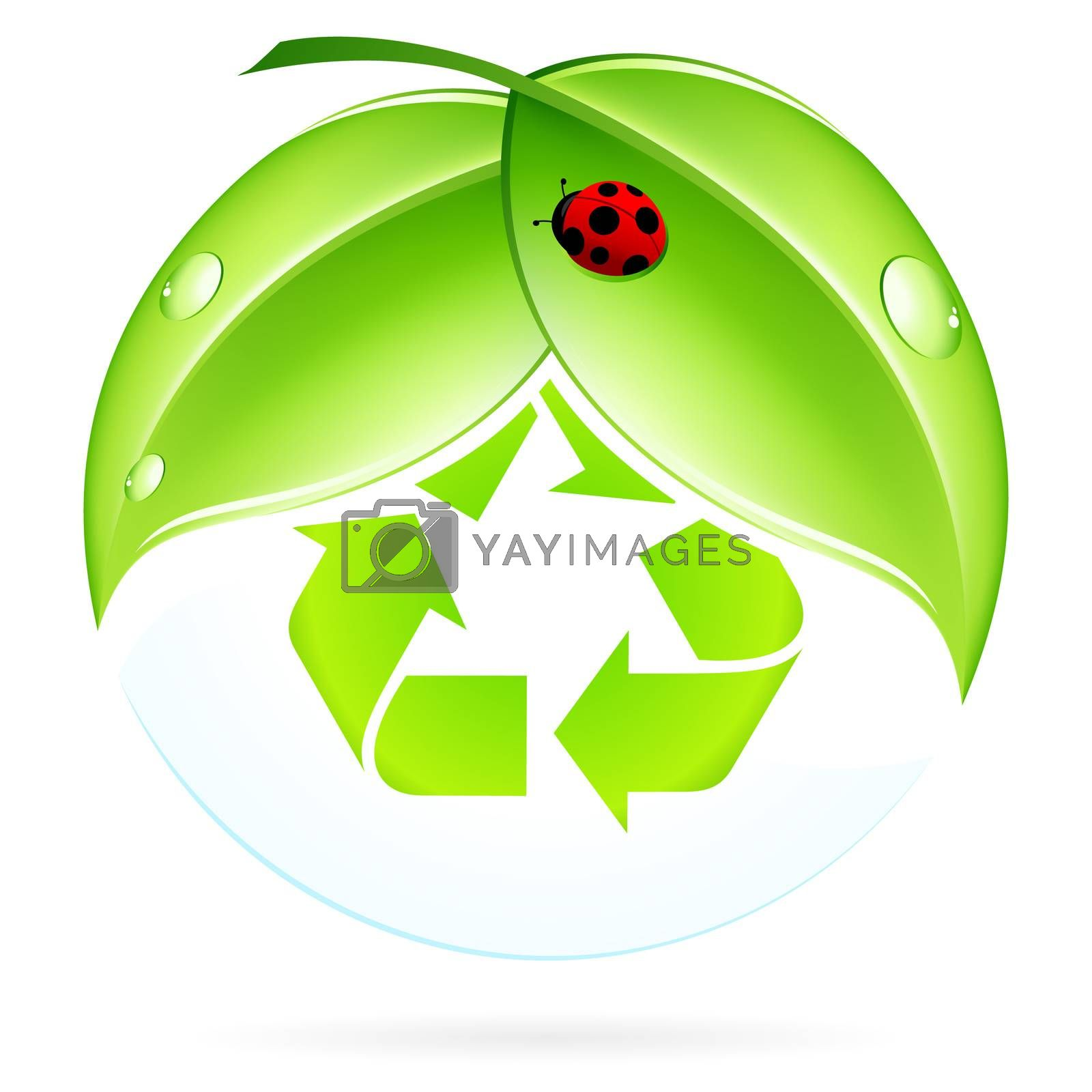 Recycling Symbol by WaD