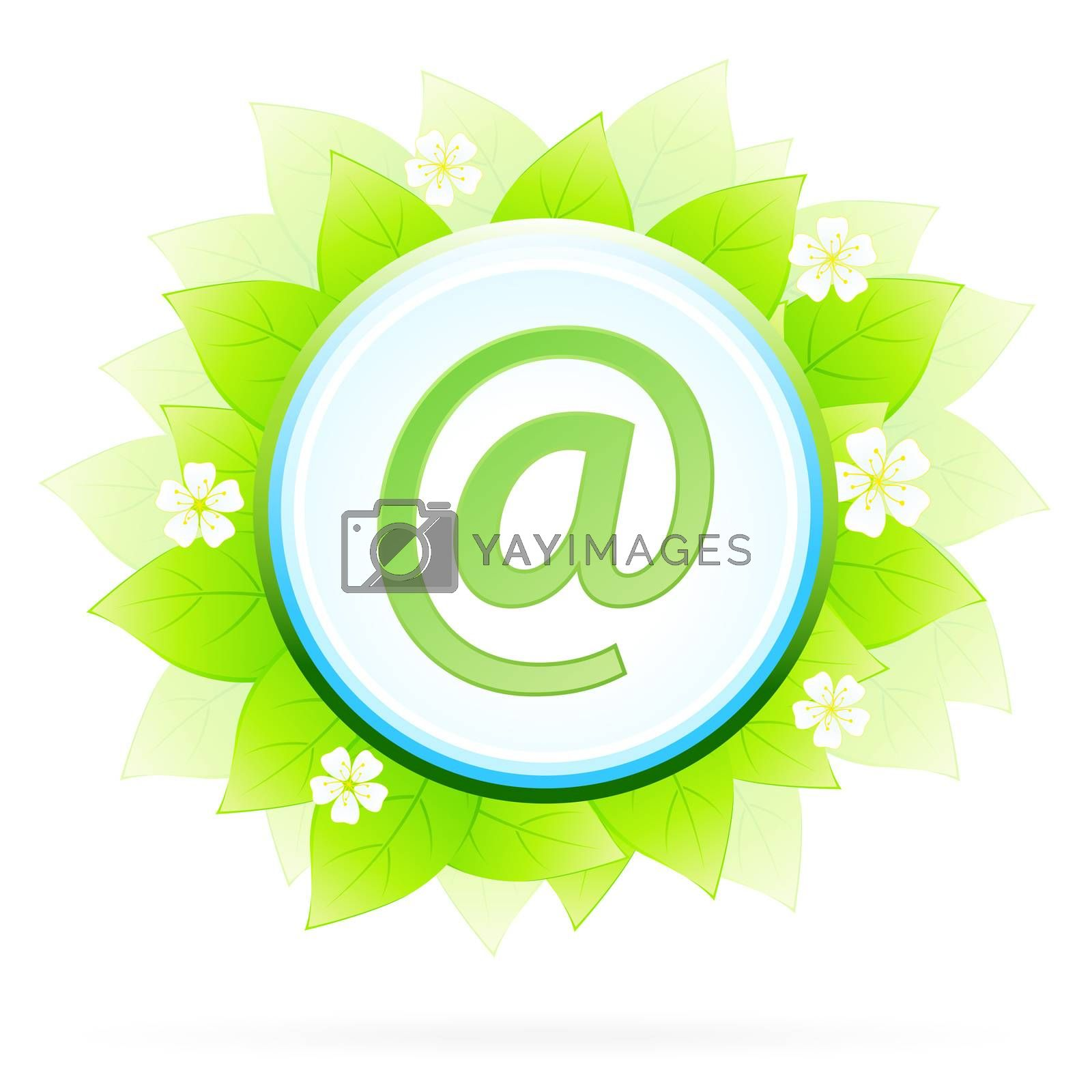 Icon Button Internet and E-mail by WaD