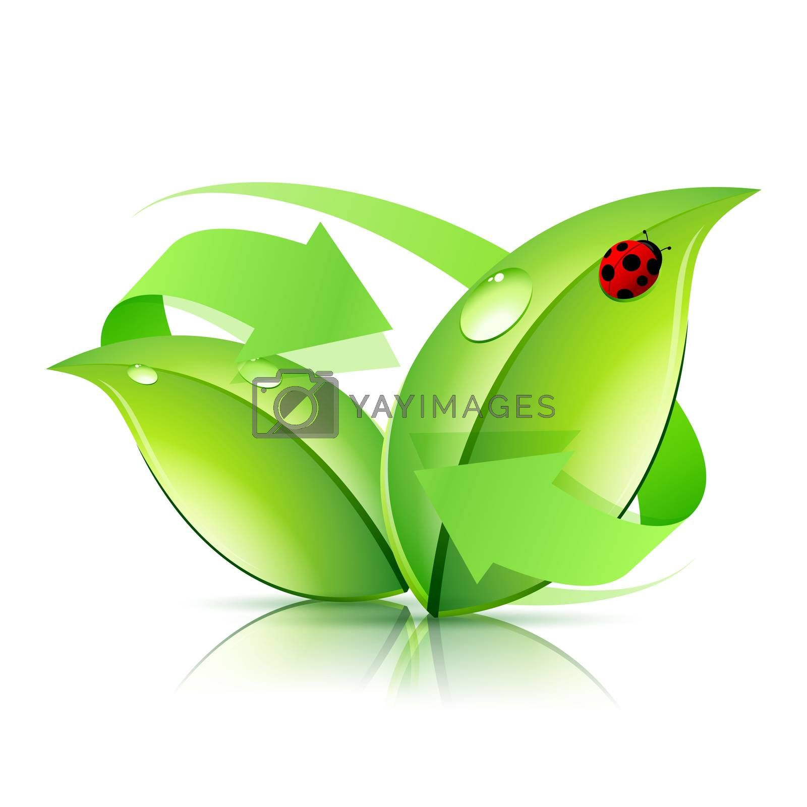 Logo Nature Recycle by WaD