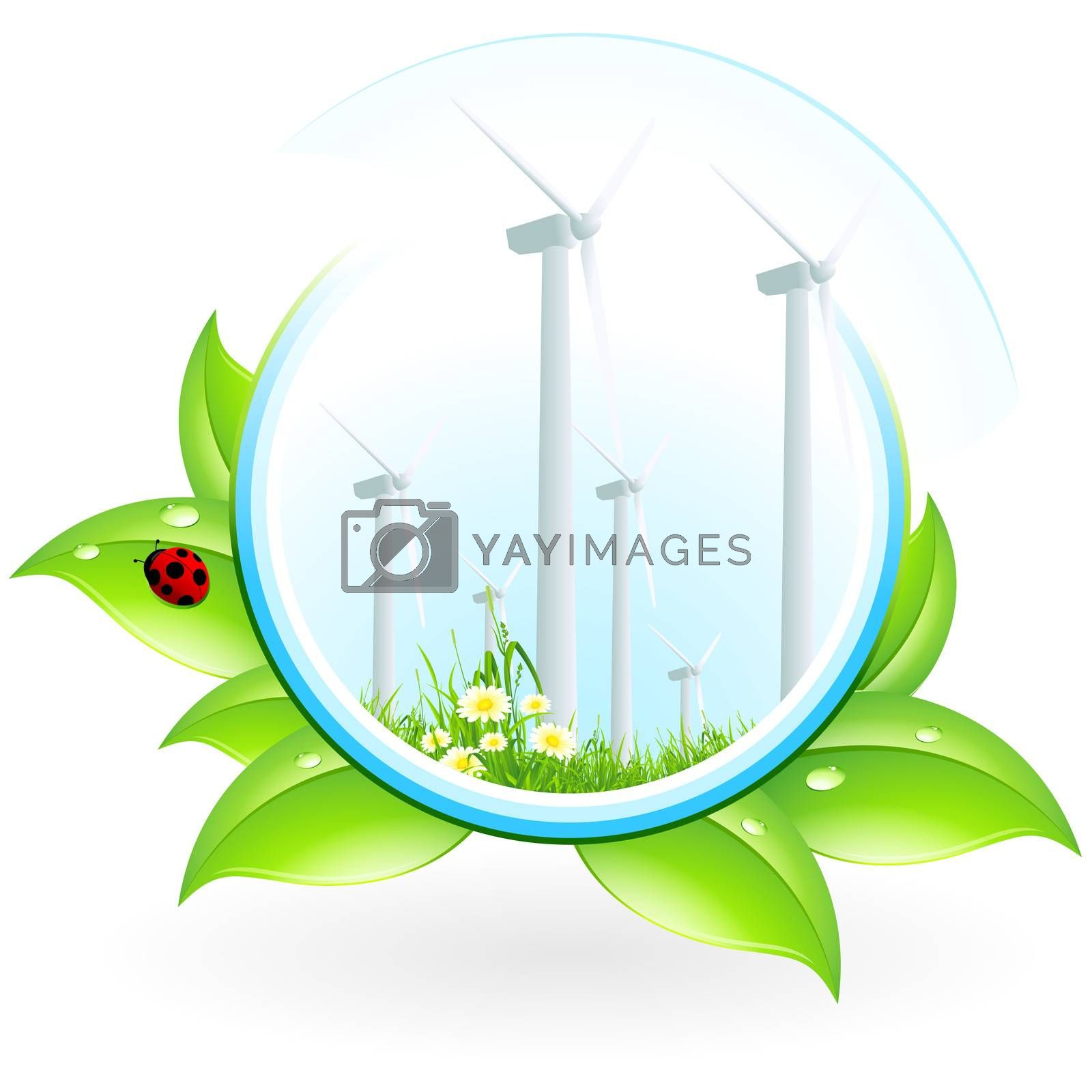 Wind Power Plant Icon by WaD