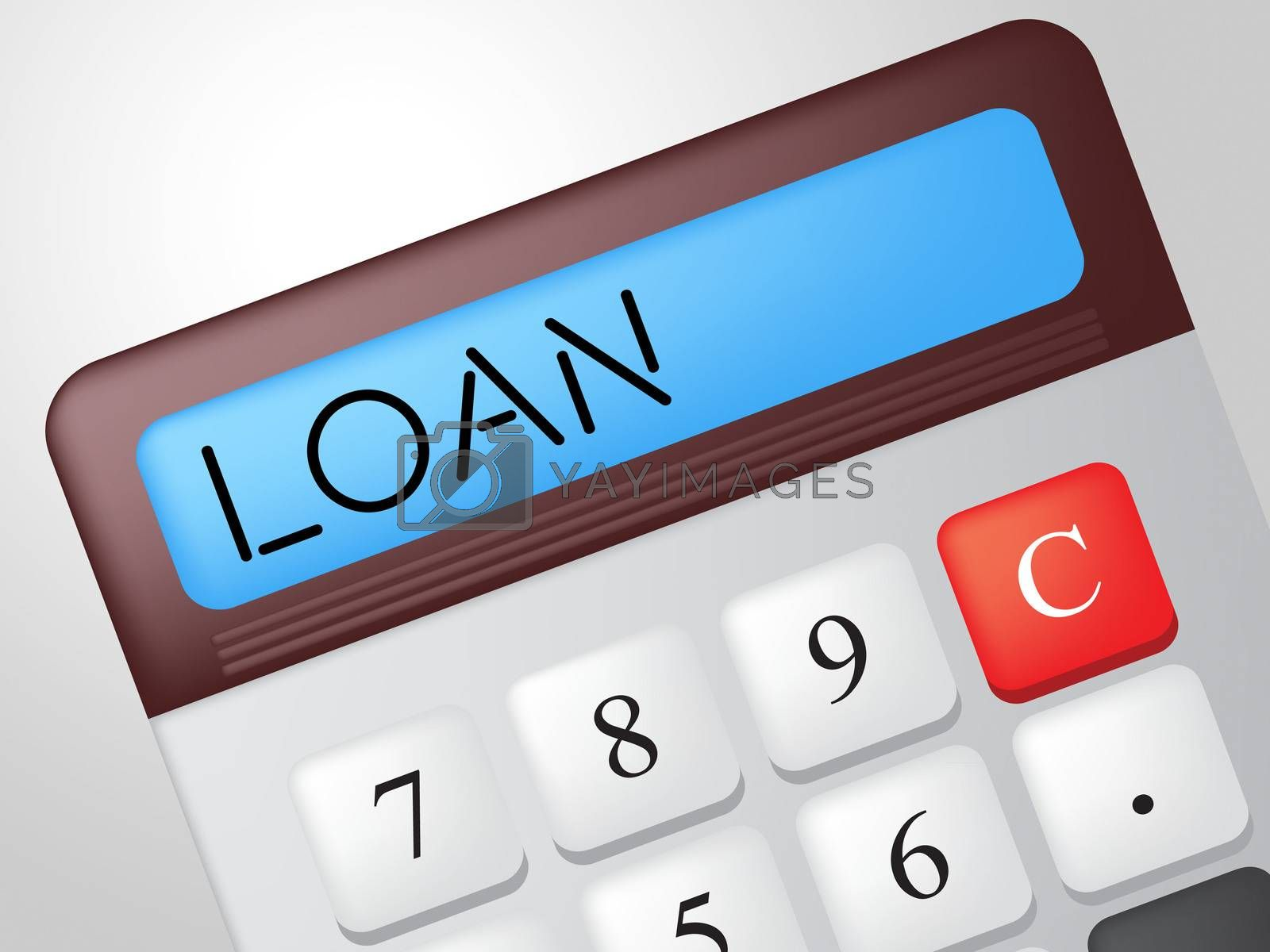 Loan Calculator Means Fund Loans And Lending by stuartmiles