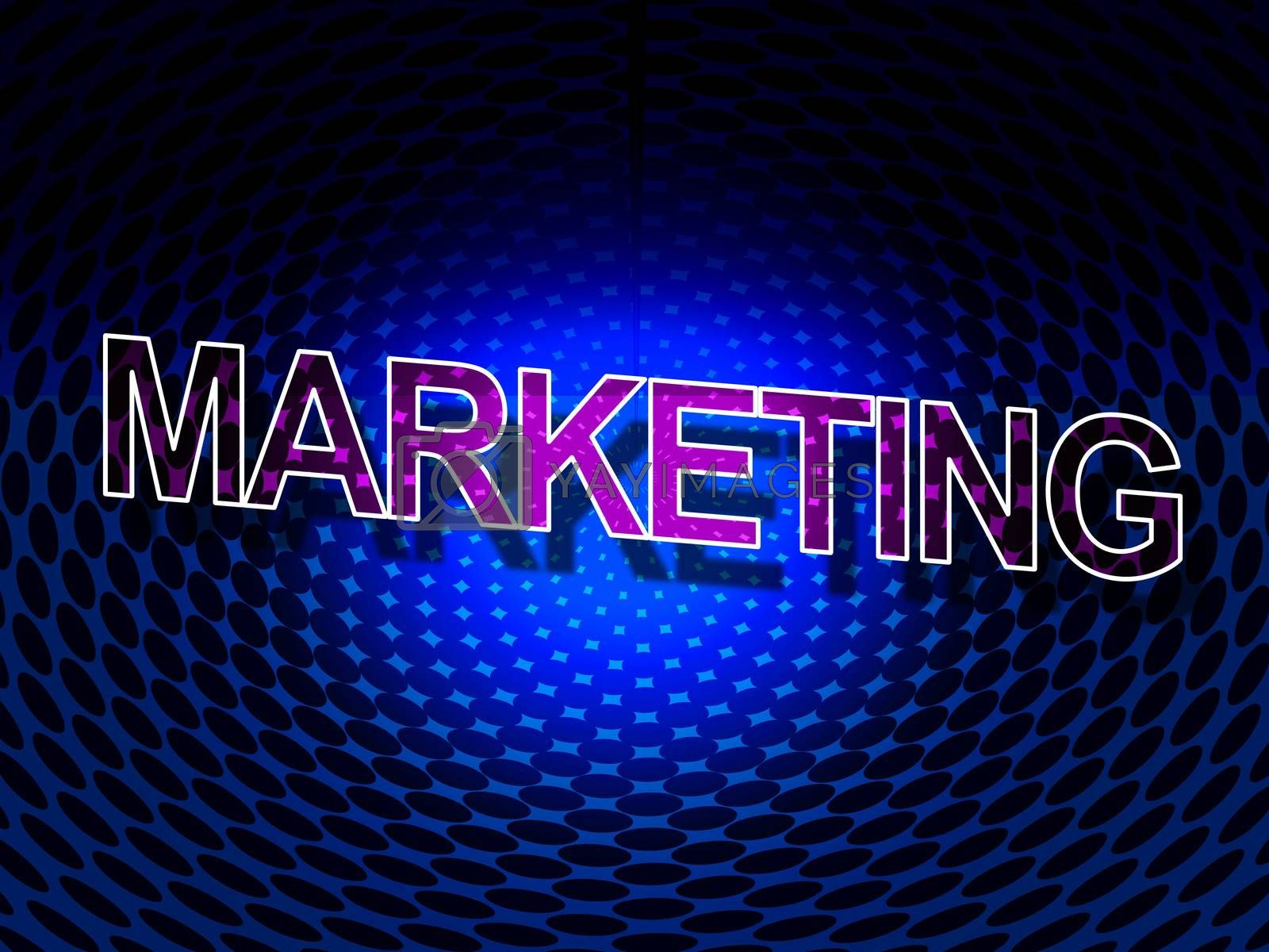 Marketing Sign Indicates Savings Promotions And Closeout by stuartmiles