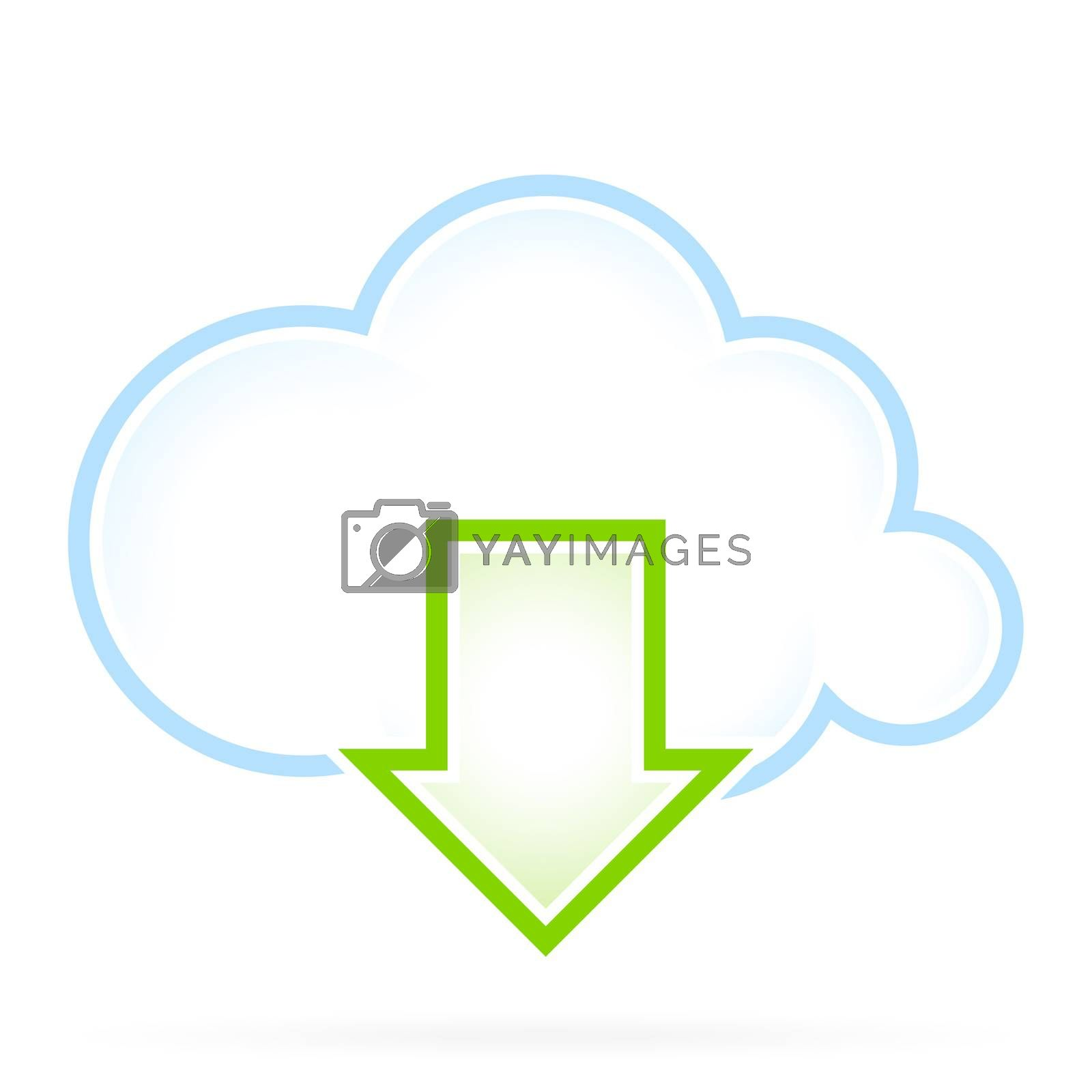 Cloud Computing Icon Download by WaD