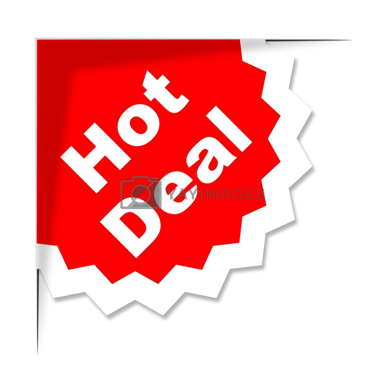 Hot Deal Represents Best Price And Business by stuartmiles
