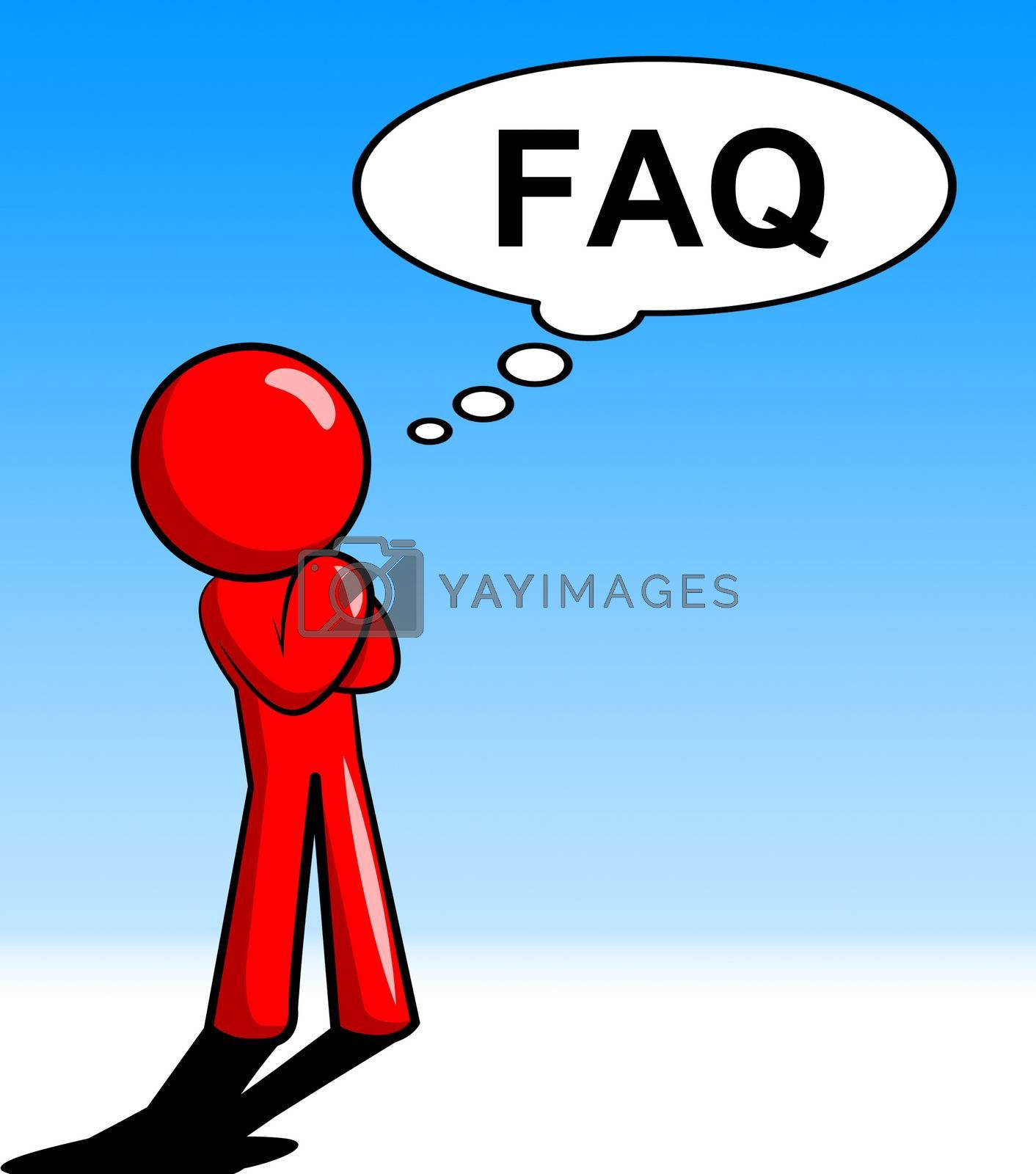 Character Thinking Faq Shows Faqs Support And Answer by stuartmiles