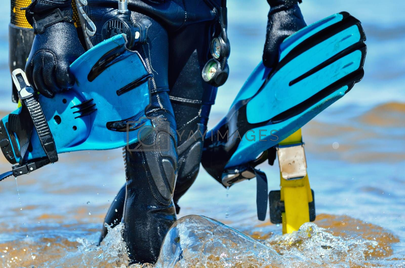 Scuba diver  by styf22