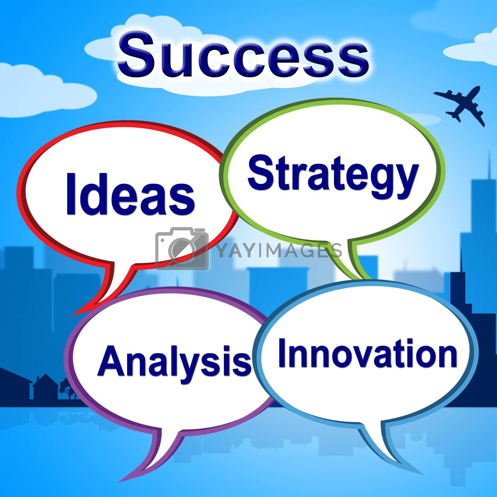 Success Words Means Triumphant Innovation And Winner by stuartmiles