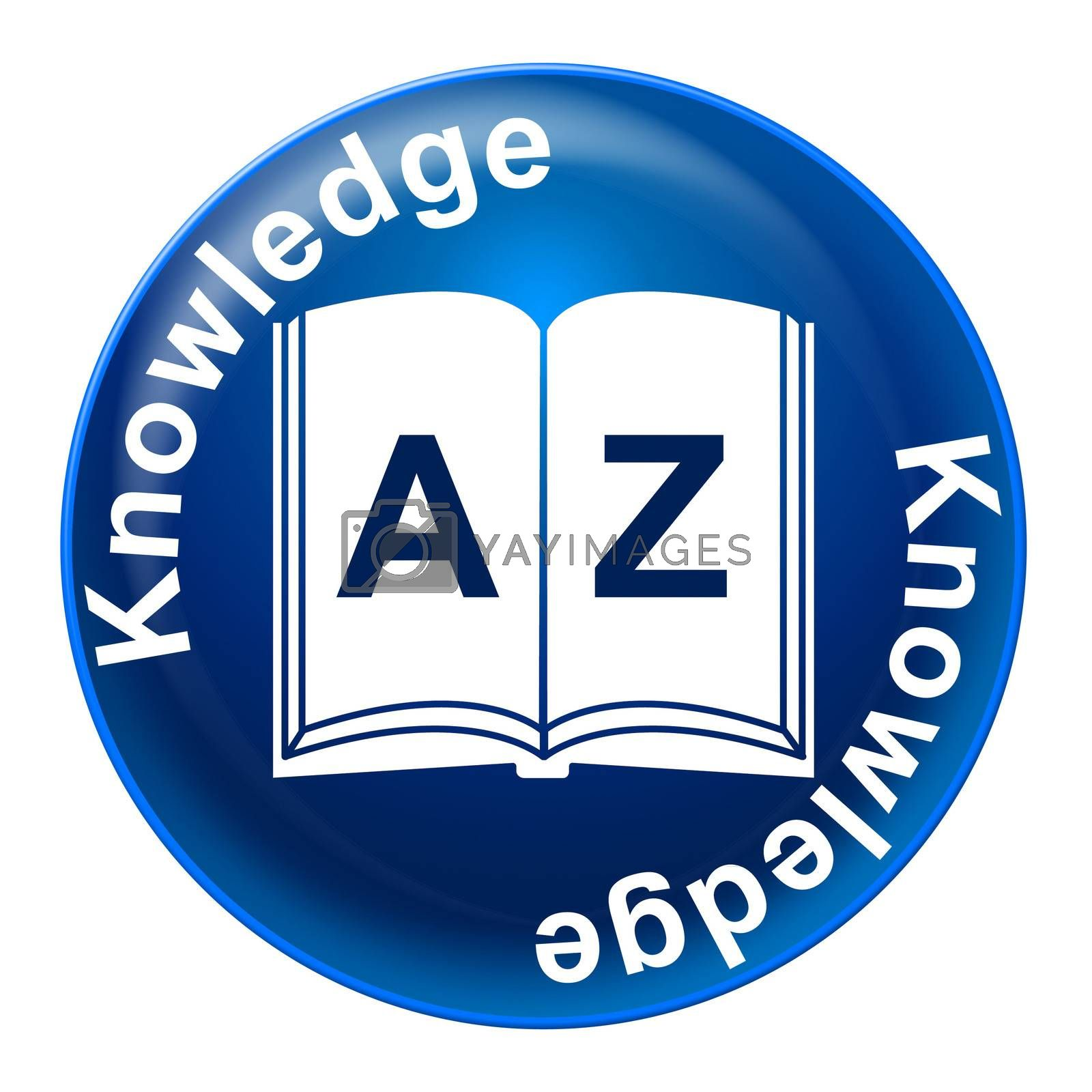 Knowledge Badge Means Educate Proficiency And Educating by stuartmiles