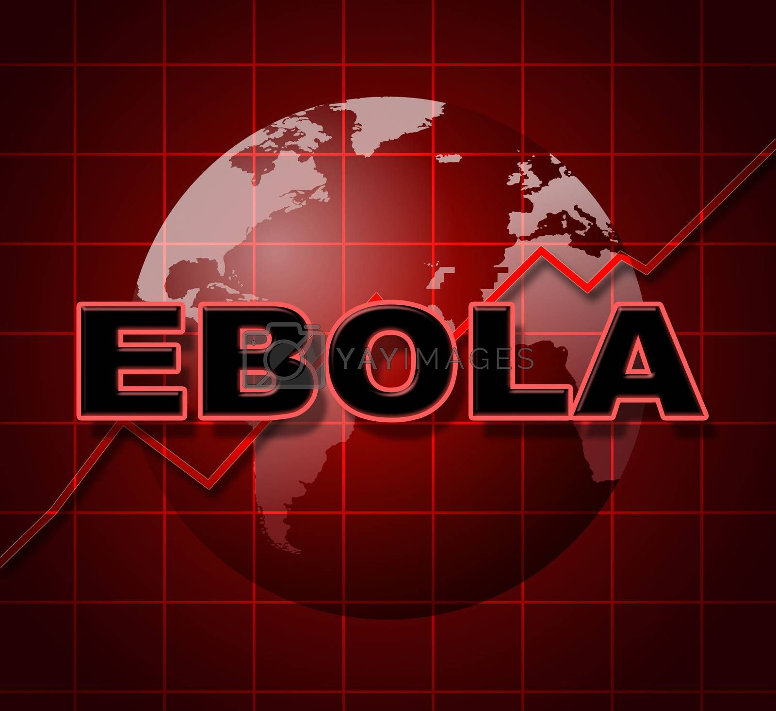 Ebola Graph Indicates Infograph Investment And Viral by stuartmiles