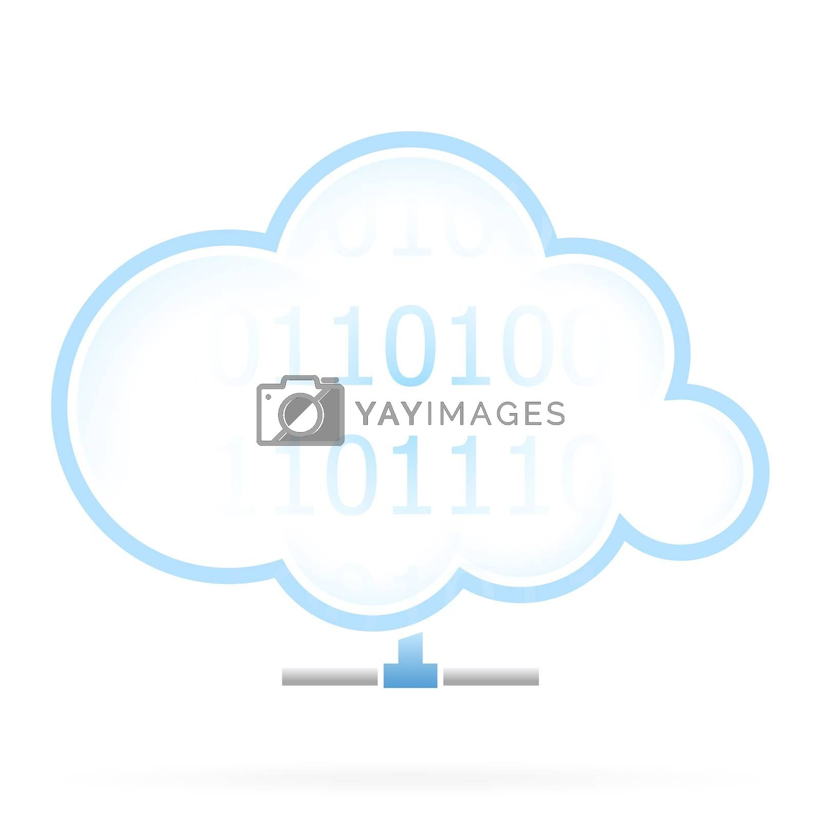 Cloud Storage Icon by WaD