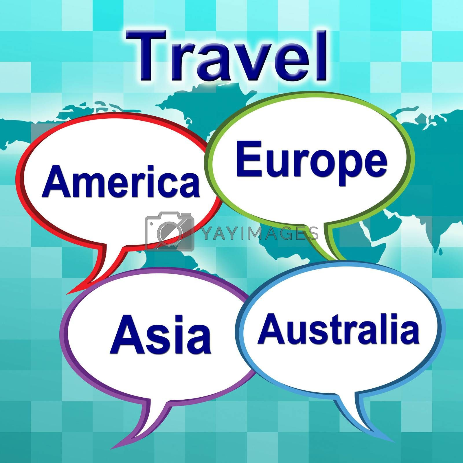 Travel Words Shows Traveller Travelled And Travels by stuartmiles